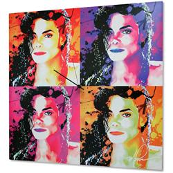 Michael Jackson - Modern Metal Wall Art