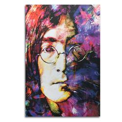 John Lennon - Pop Art Painting by Mark Lewis, giclee Print on Metal