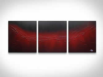The Red Touch  - Original Canvas Art