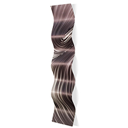 Fusion Wave 9.5x44in. Metal Eclectic Decor