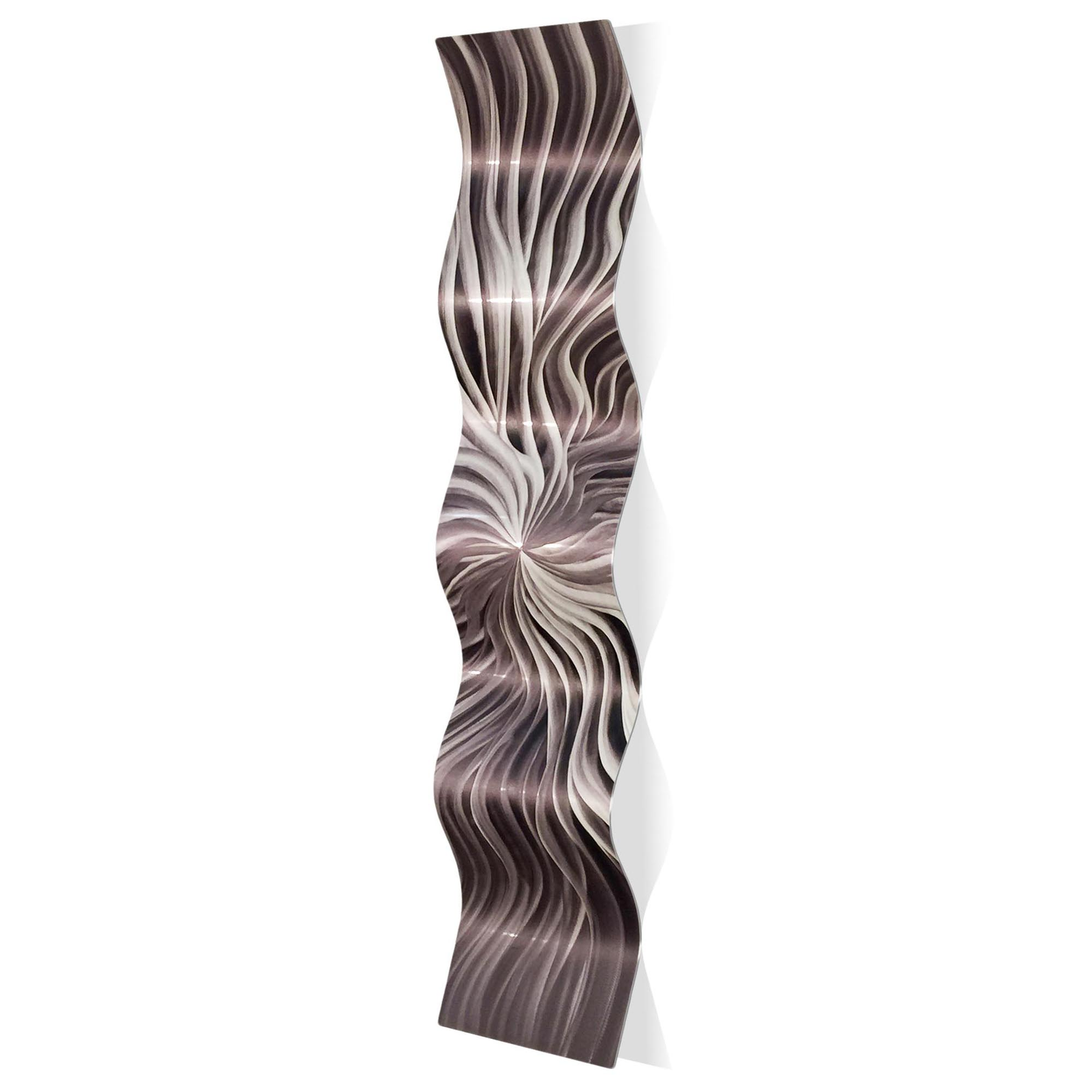 Flexure Wave 9.5x44in. Metal Eclectic Decor