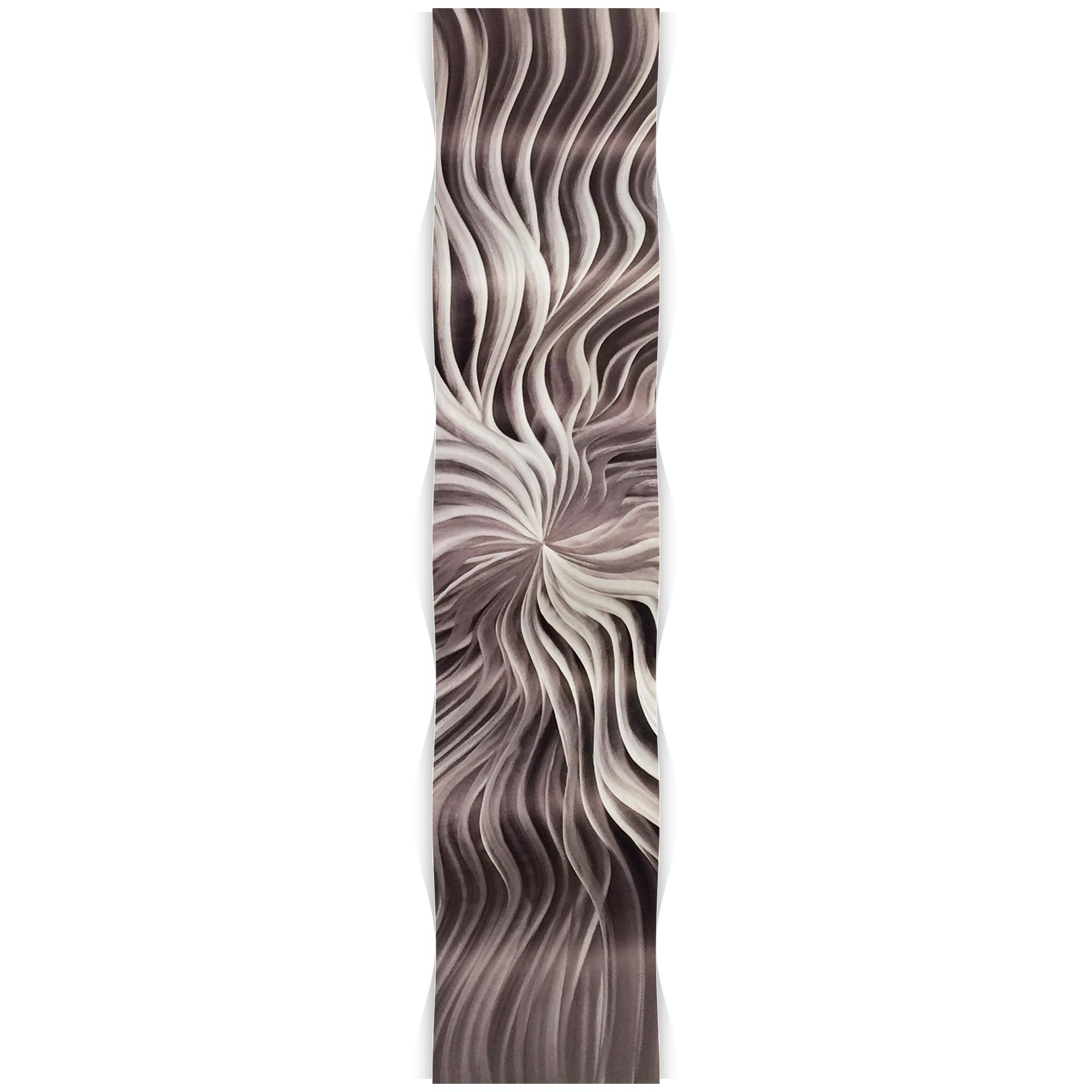 Flexure Wave 9.5x44in. Metal Eclectic Decor - Image 2