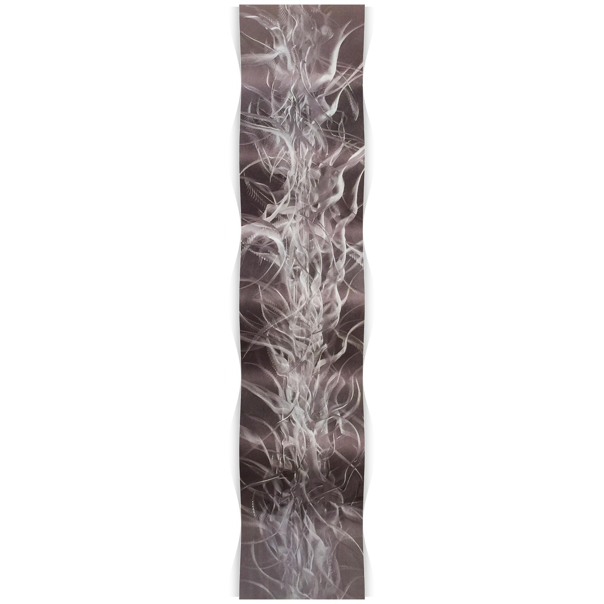 Electric Wave 9.5x44in. Metal Eclectic Decor - Image 2