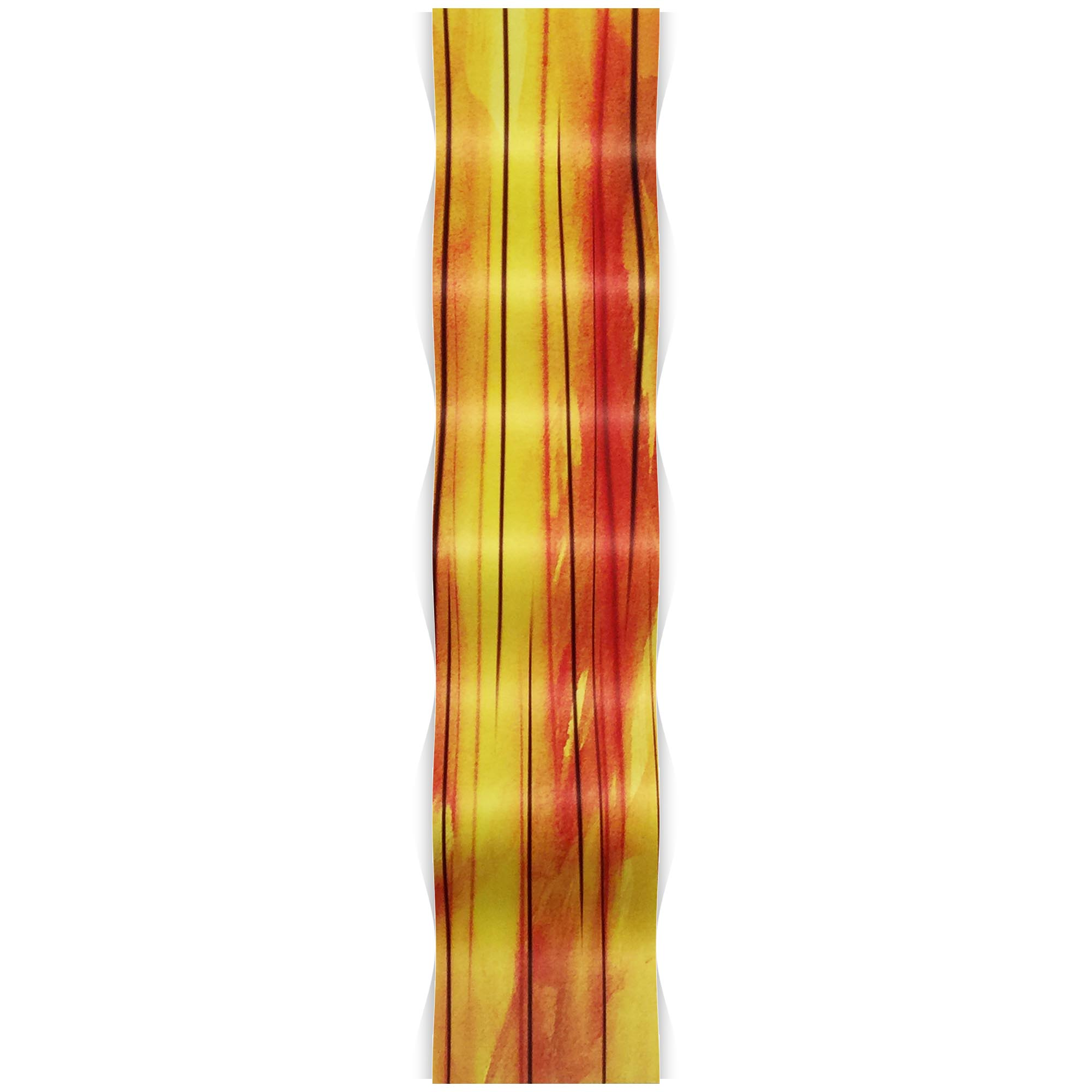 Heat Wave 9.5x44in. Metal Eclectic Decor - Image 2