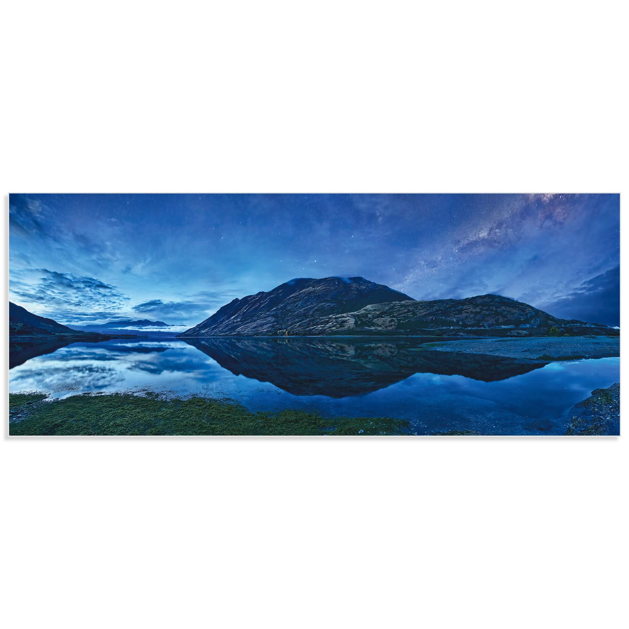 Lake Hawea by Yan Zhang - Landscape Art on Metal or Acrylic - Alternate View 2