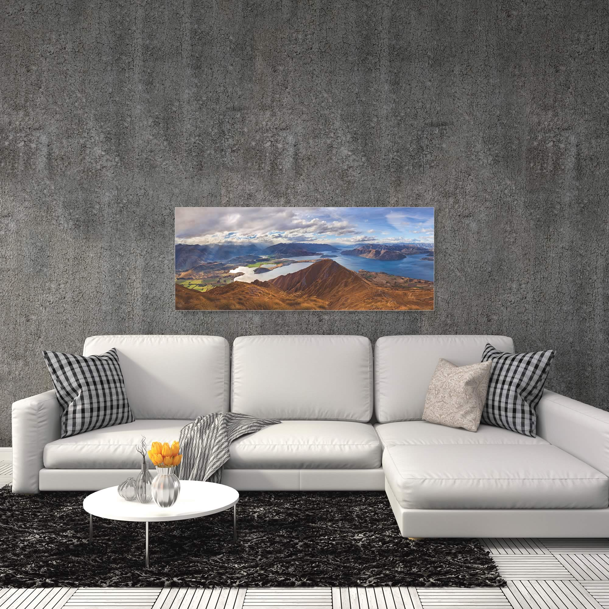Roys Peak by Yan Zhang - Landscape Art on Metal or Acrylic - Alternate View 1
