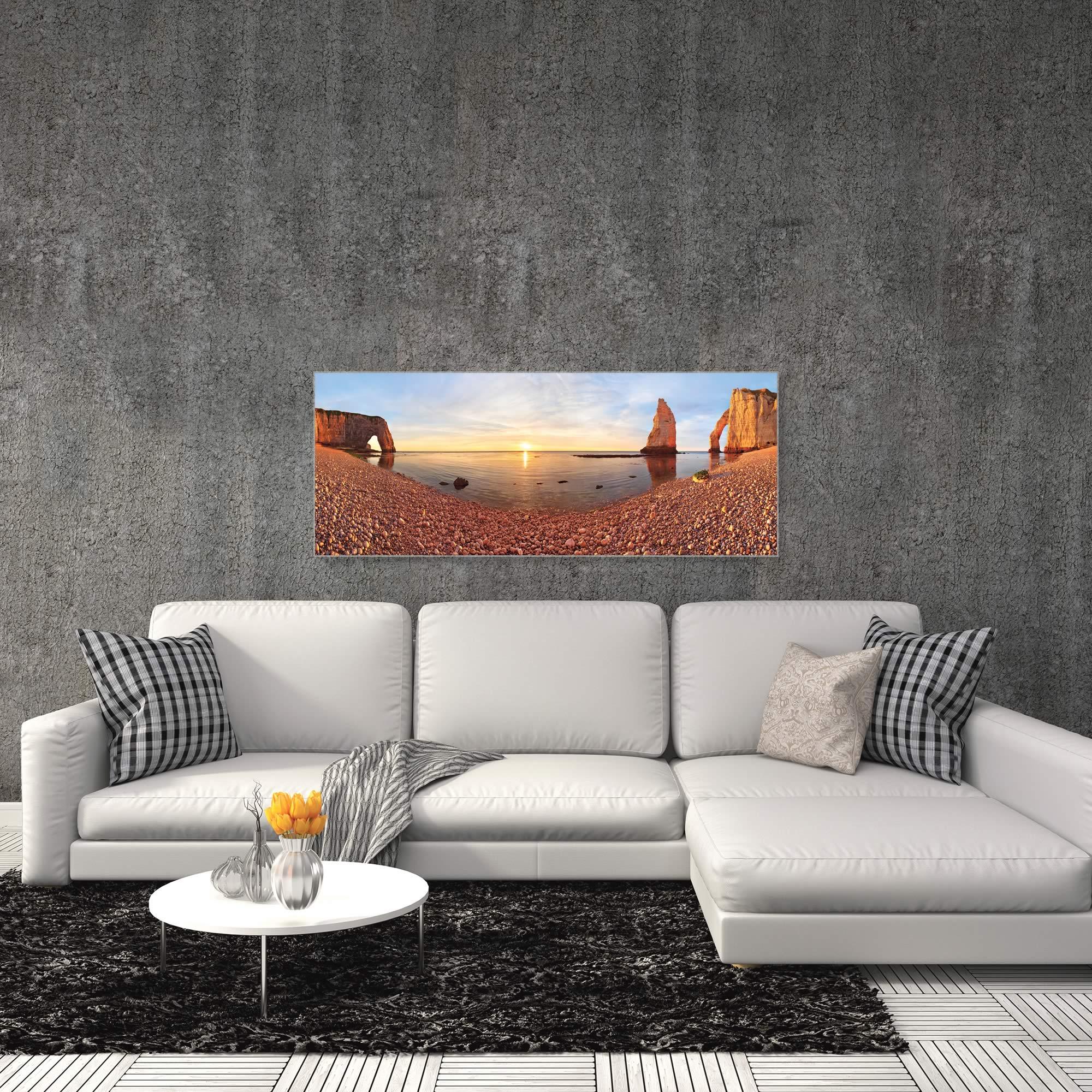 Desert Lake by Valeriy Shcherbina - Desert Oasis Art on Metal or Acrylic - Alternate View 3