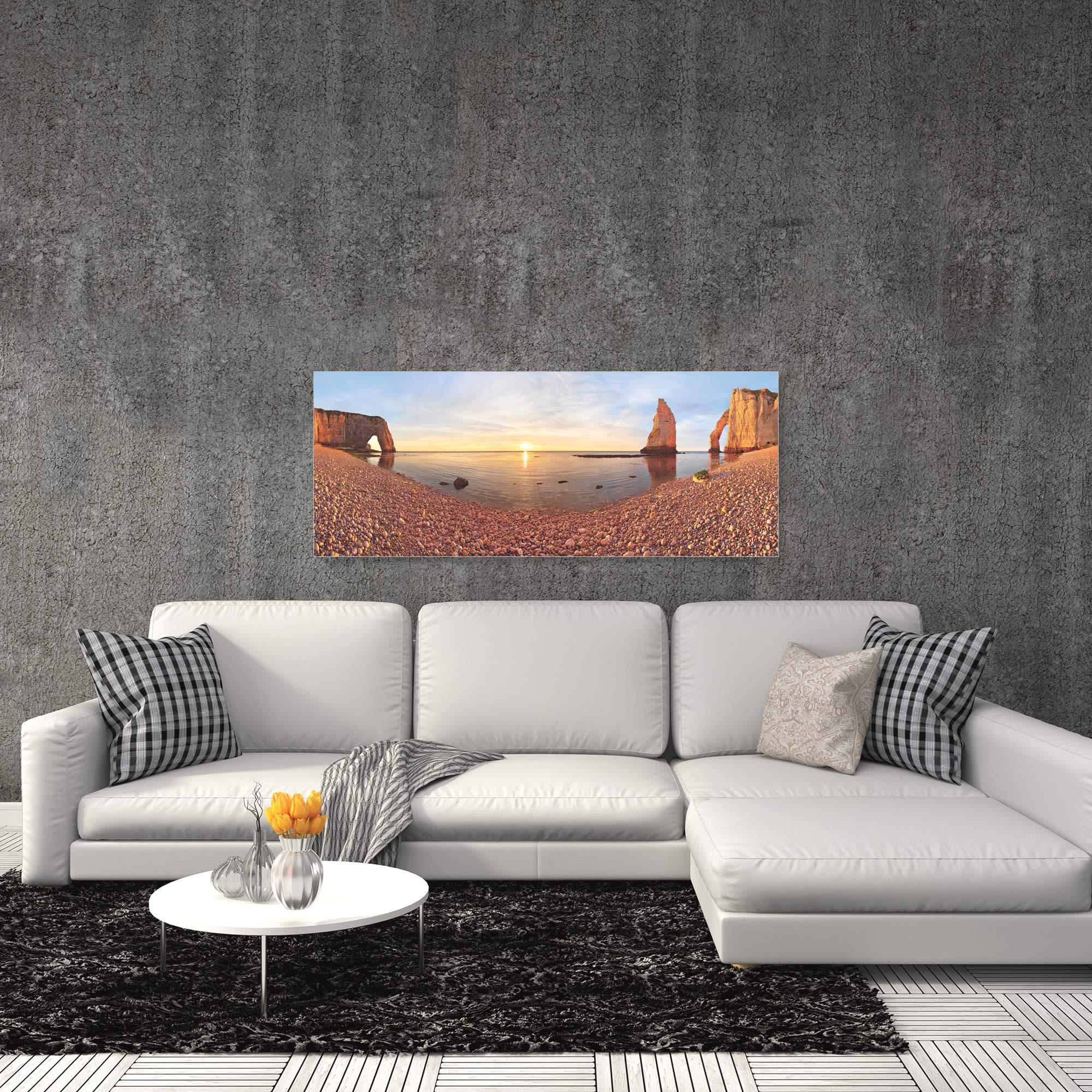 Desert Lake by Valeriy Shcherbina - Desert Oasis Art on Metal or Acrylic - Alternate View 1