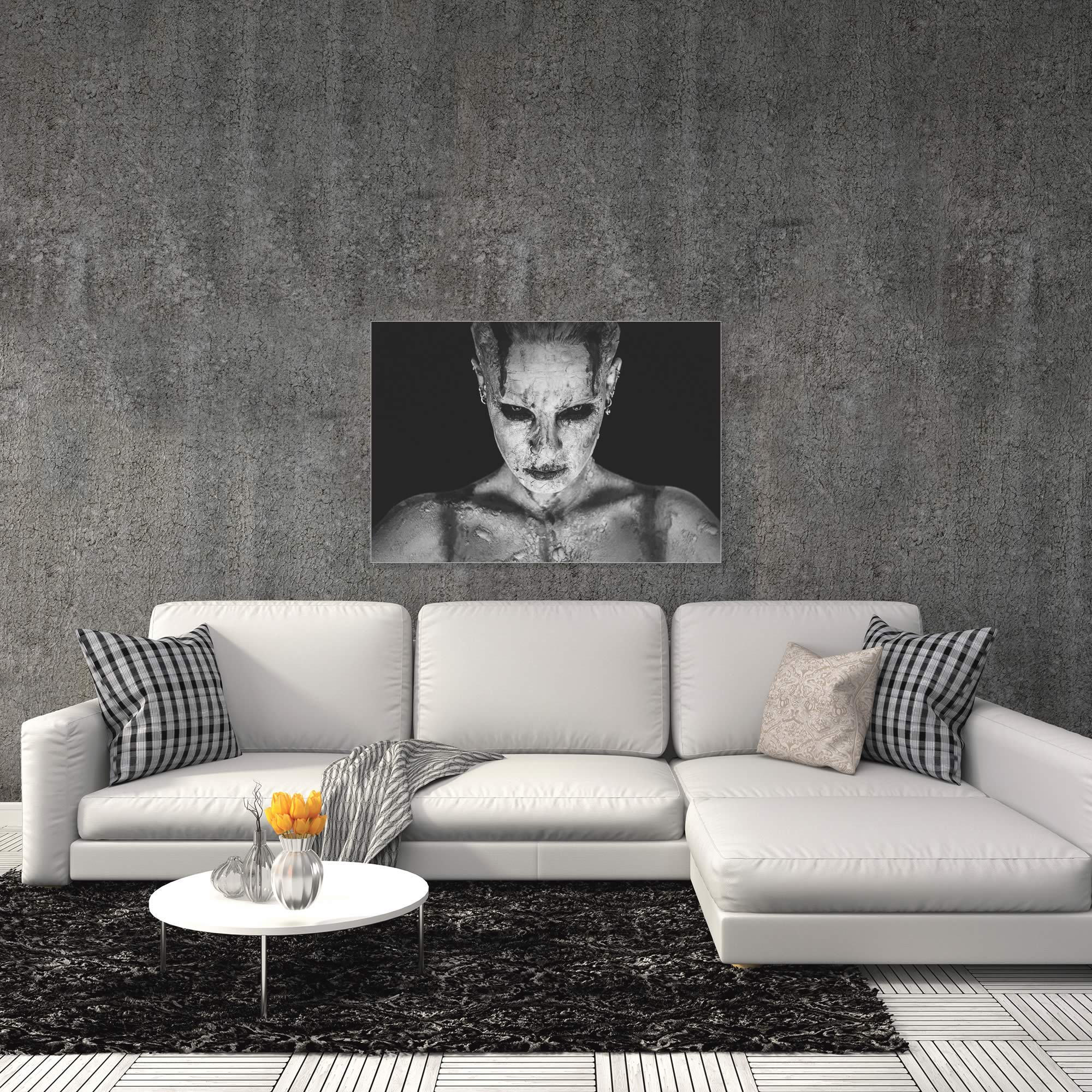 I Am Your Queen by Marco De Waal - Gothic Art on Metal or Acrylic - Alternate View 1