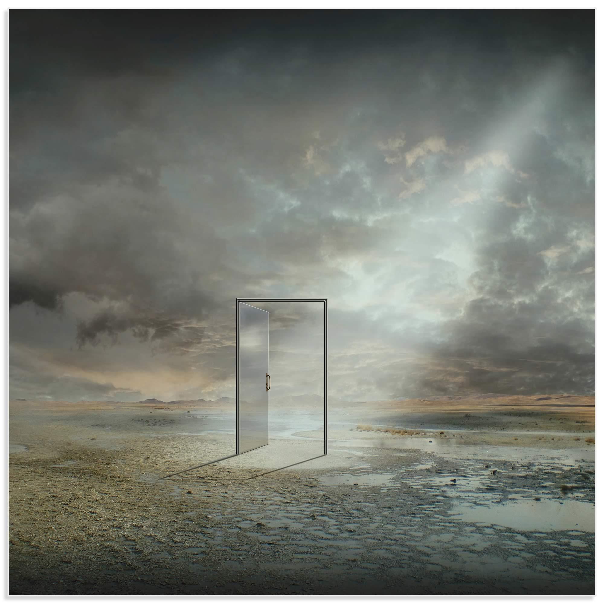 Behind Reality by Franziskus Pfleghart - Digital Art on Metal or Acrylic - Alternate View 2