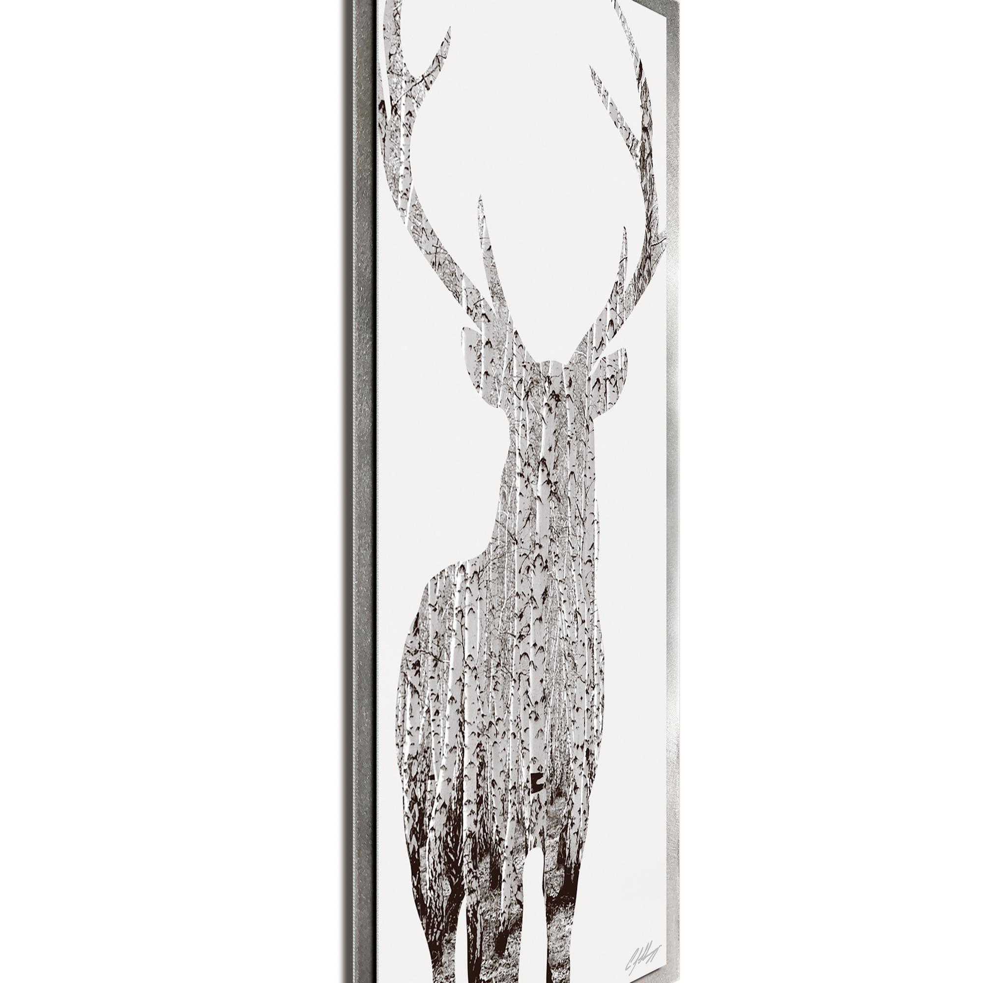 Birch Deer Framed - Image 2