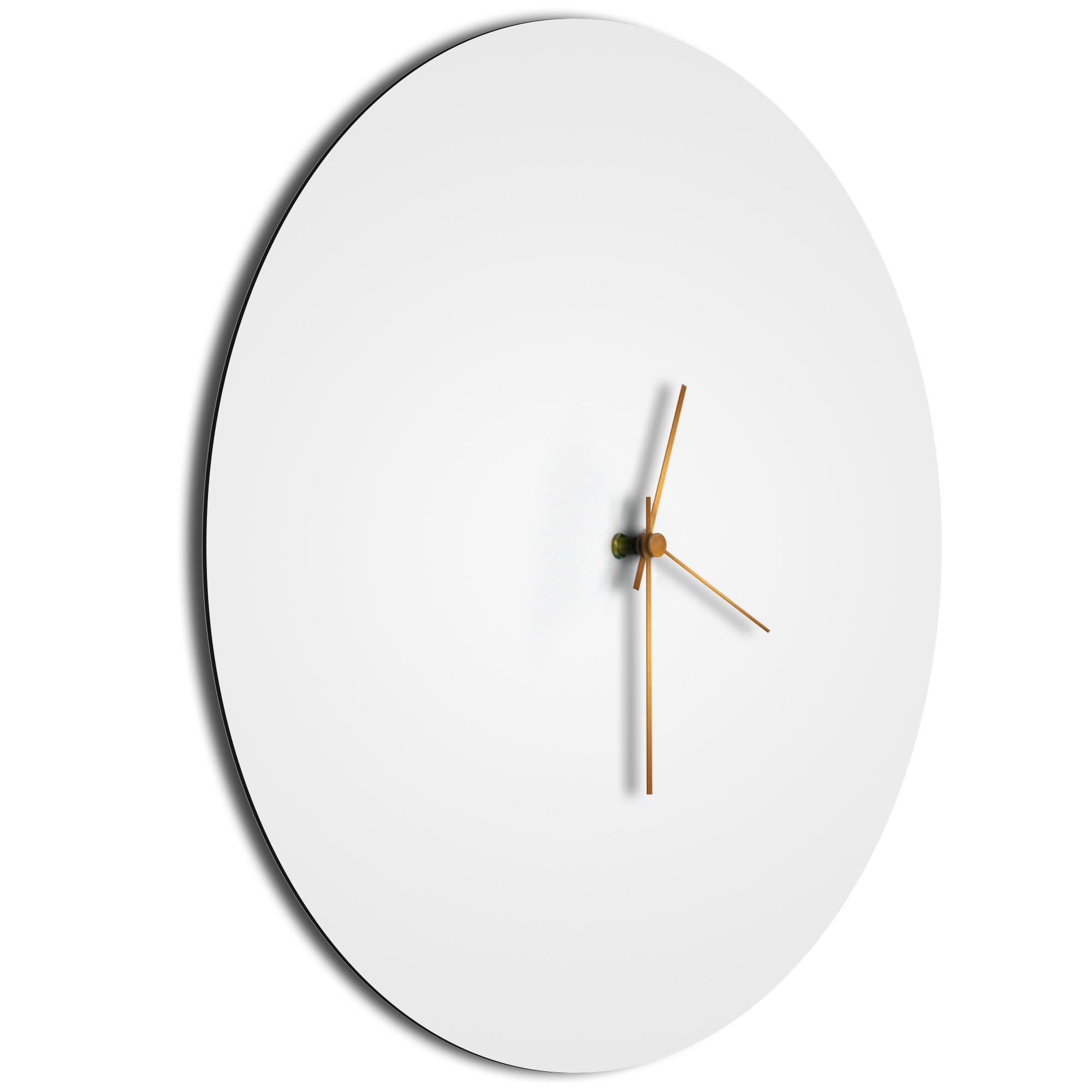 Whiteout Bronze Circle Clock - Image 2