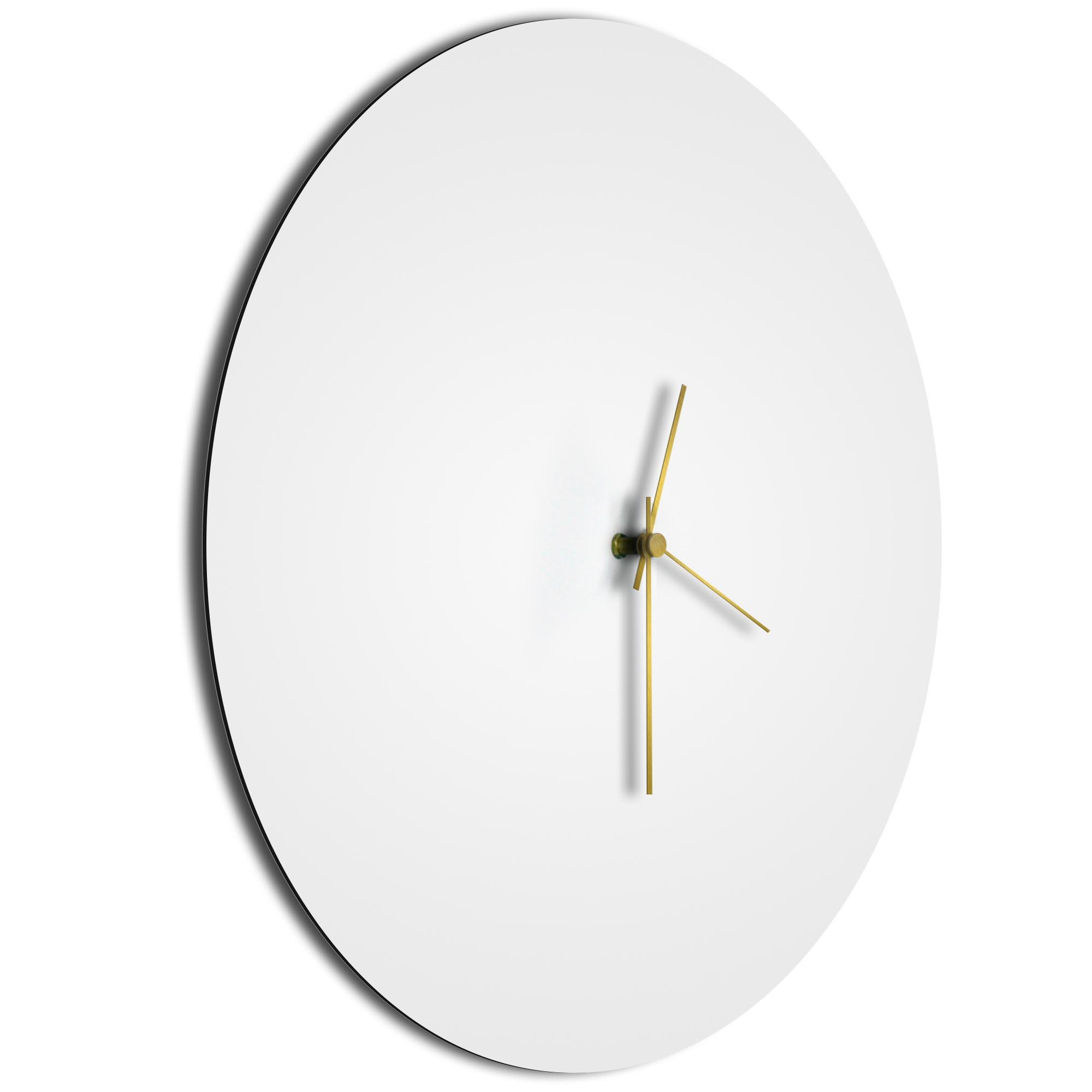Whiteout Gold Circle Clock - Image 2