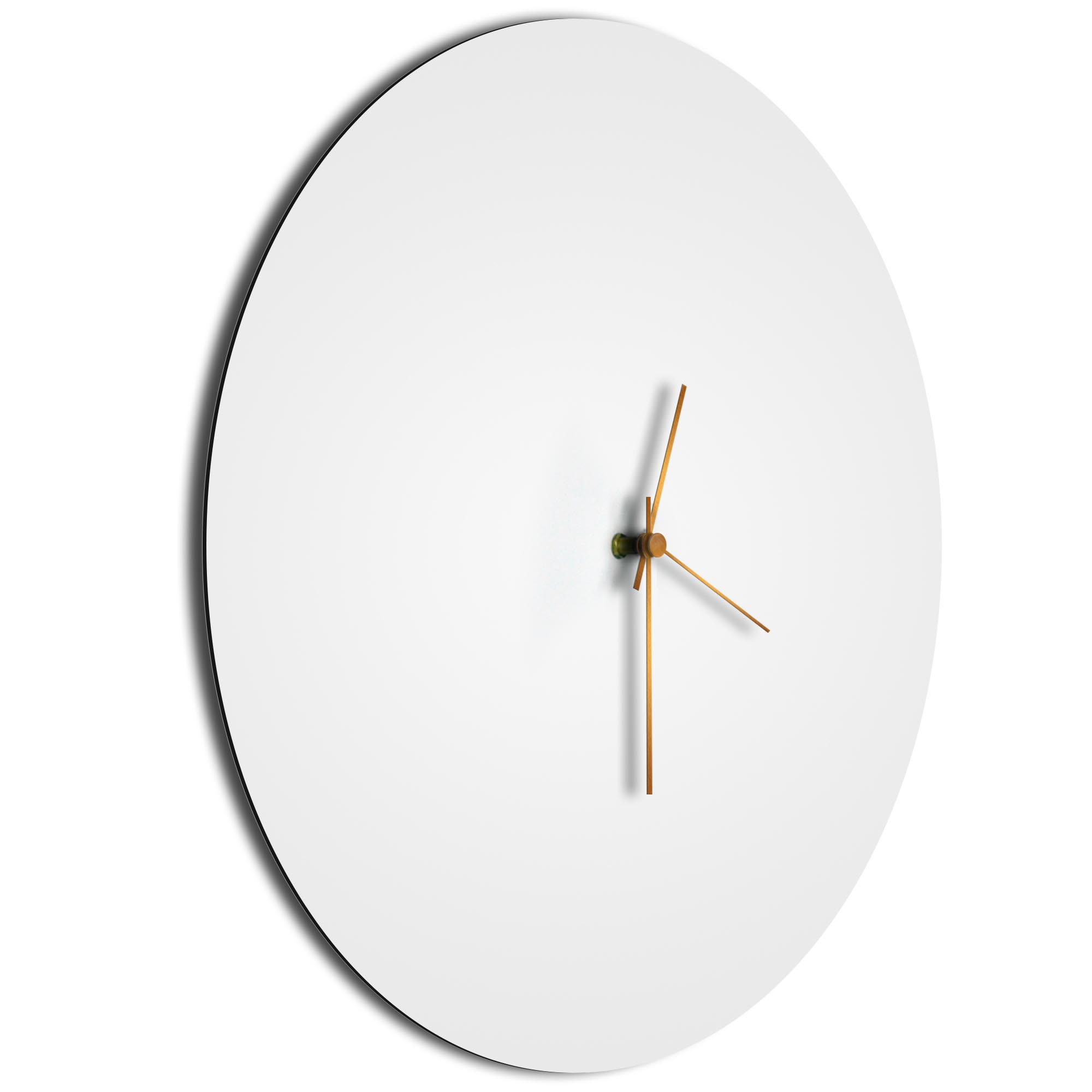 Whiteout Bronze Circle Clock Large - Image 2