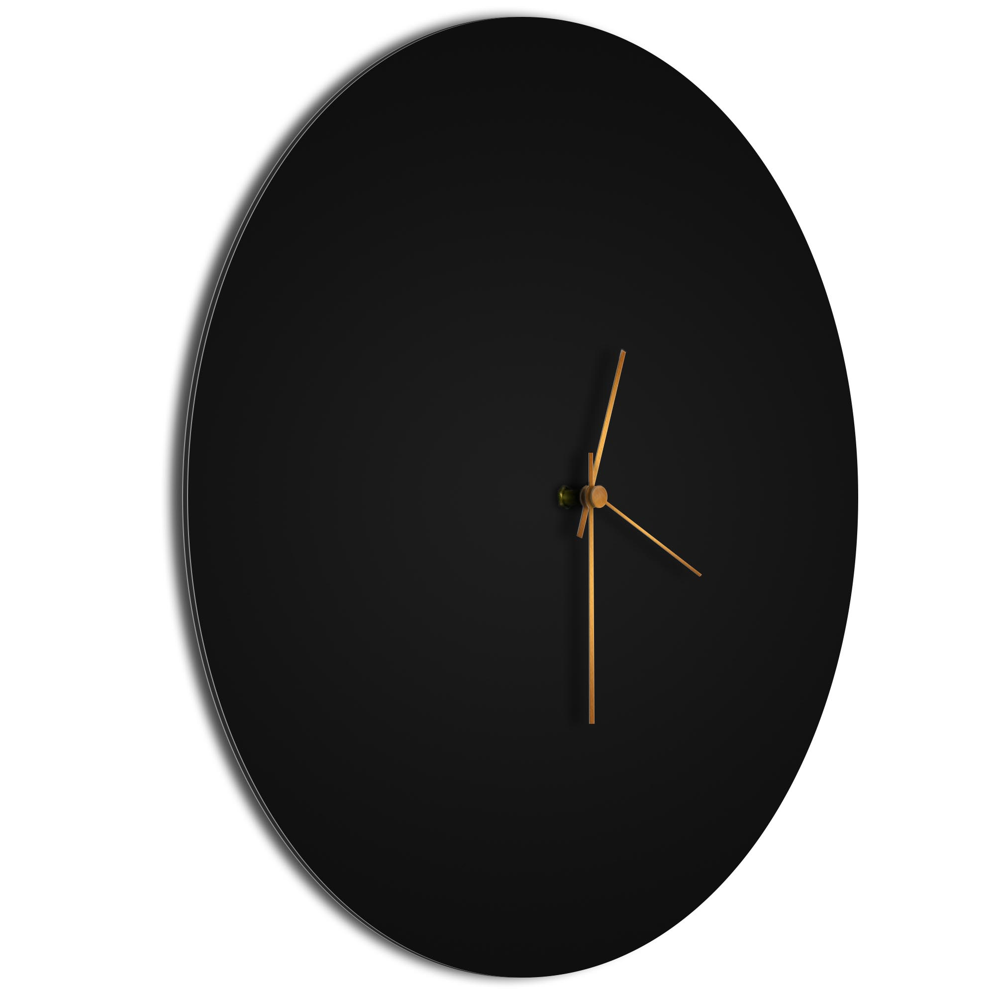 Blackout Bronze Circle Clock - Image 2