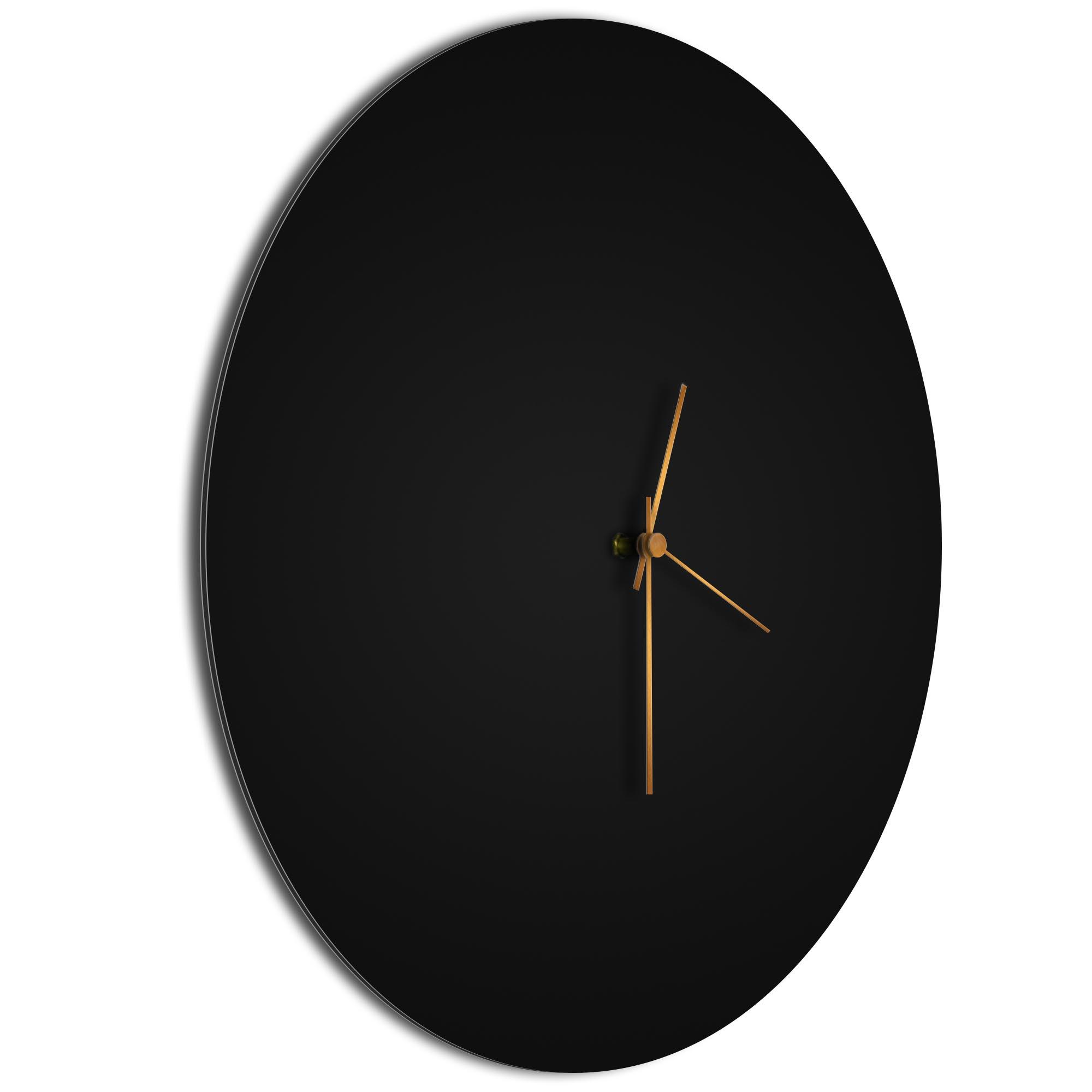Blackout Bronze Circle Clock Large - Image 2