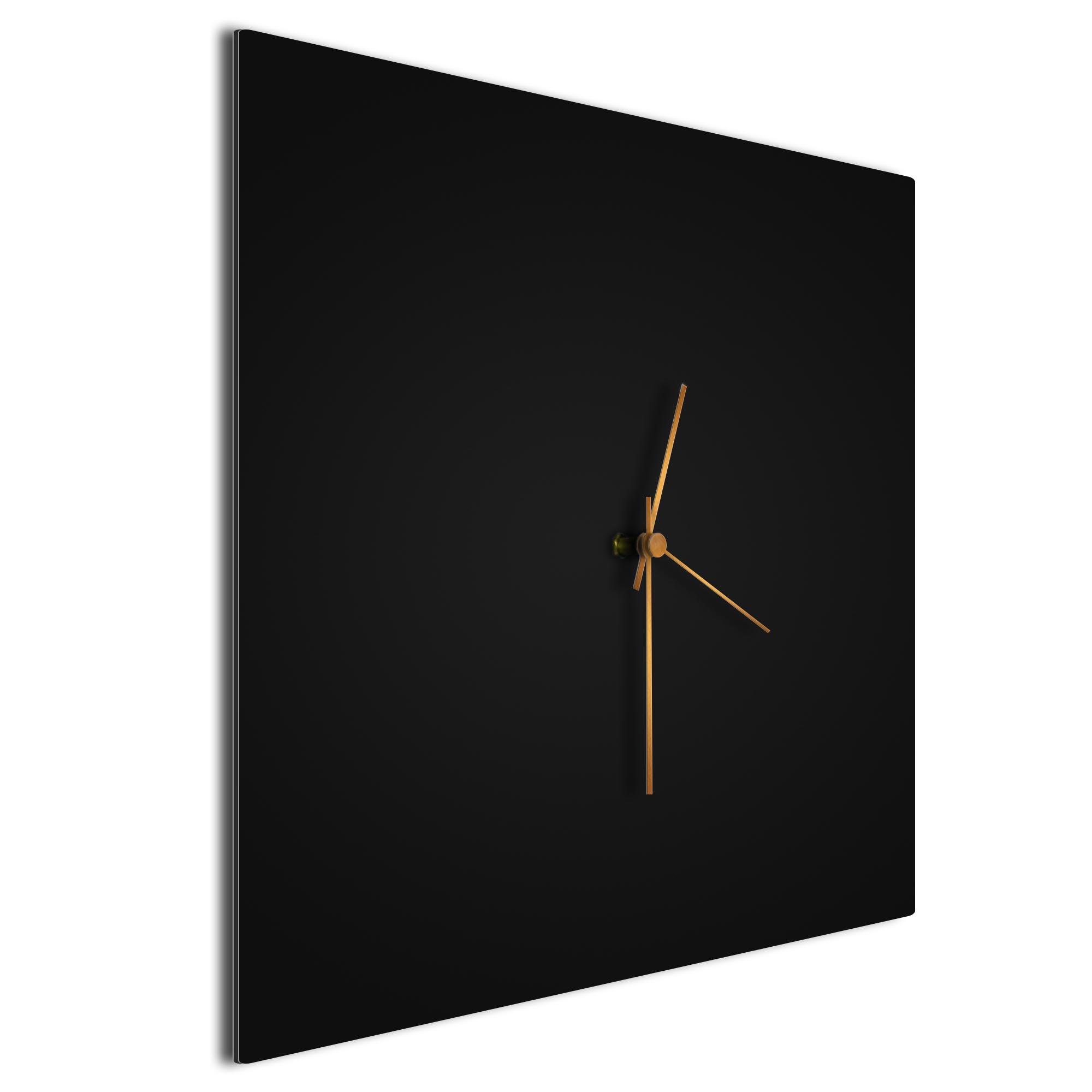 Blackout Bronze Square Clock - Image 2