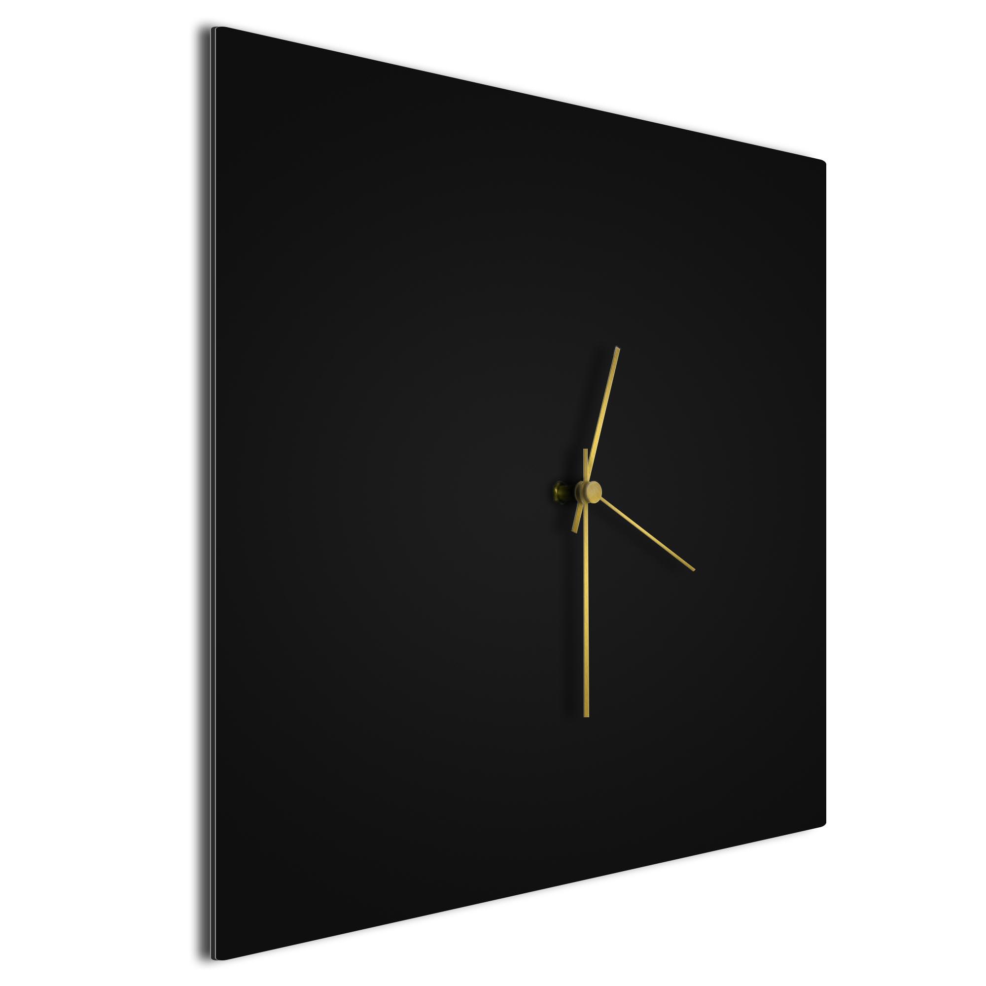 Blackout Gold Square Clock Large - Image 2