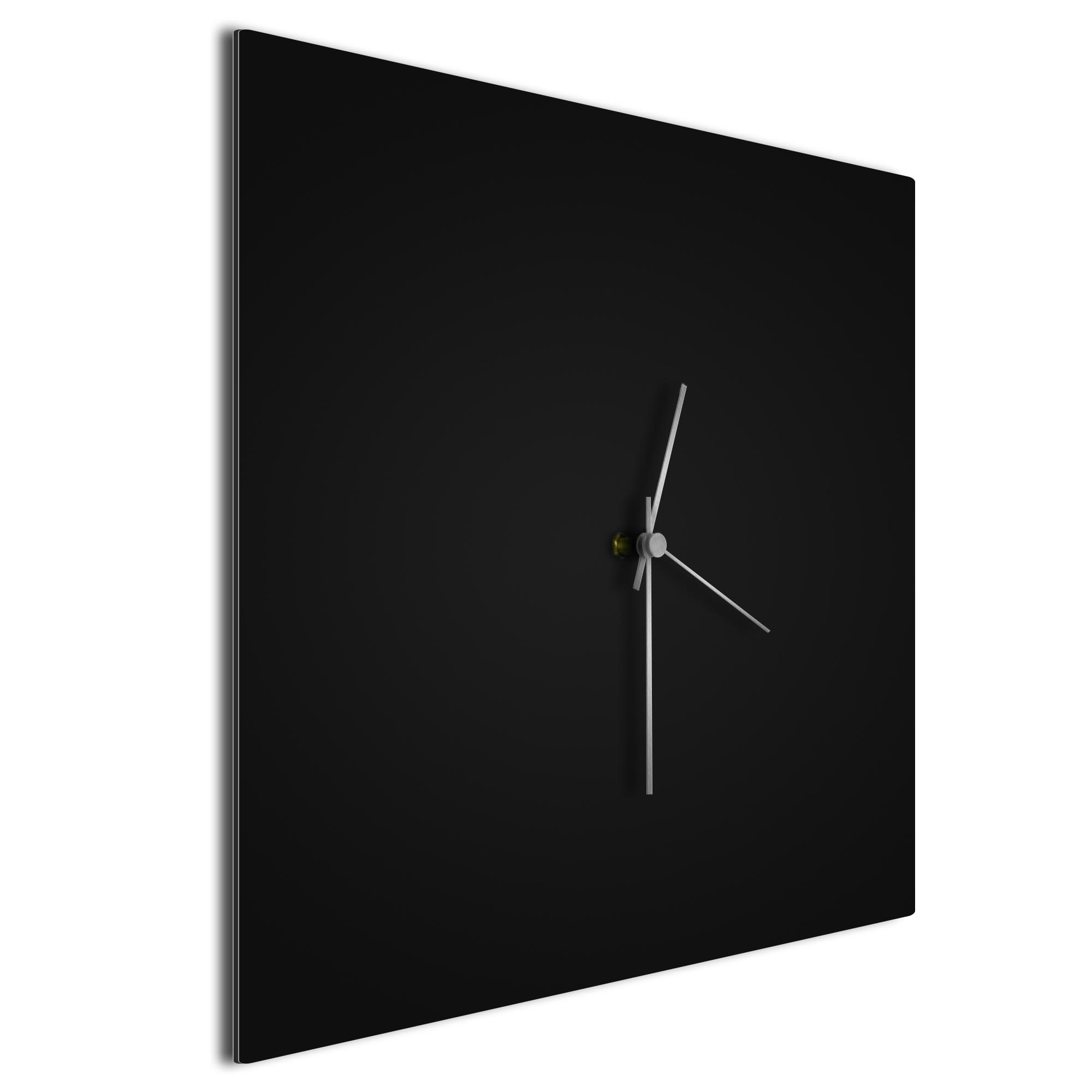 Blackout Silver Square Clock - Image 2