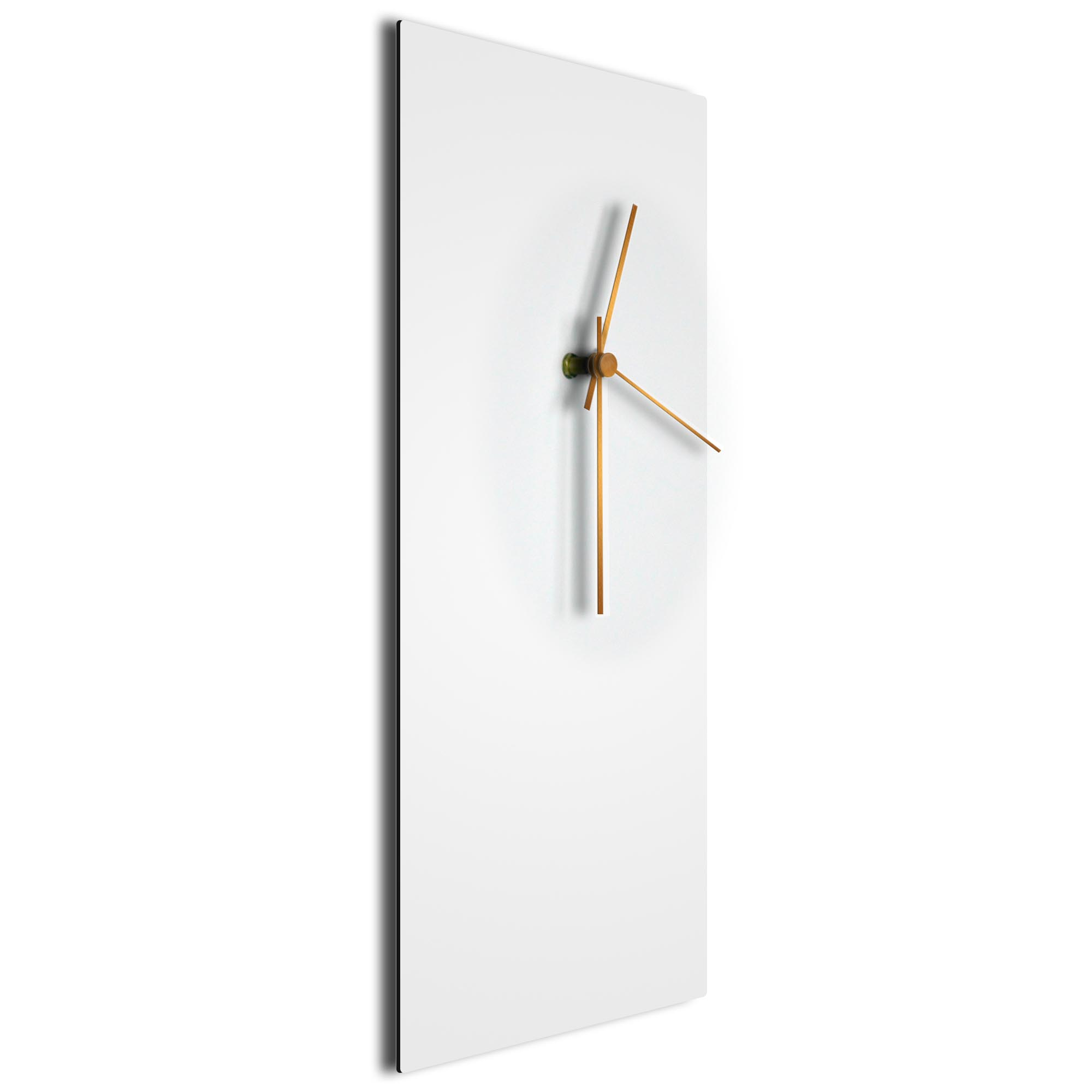 Whiteout Bronze Clock Large - Image 2