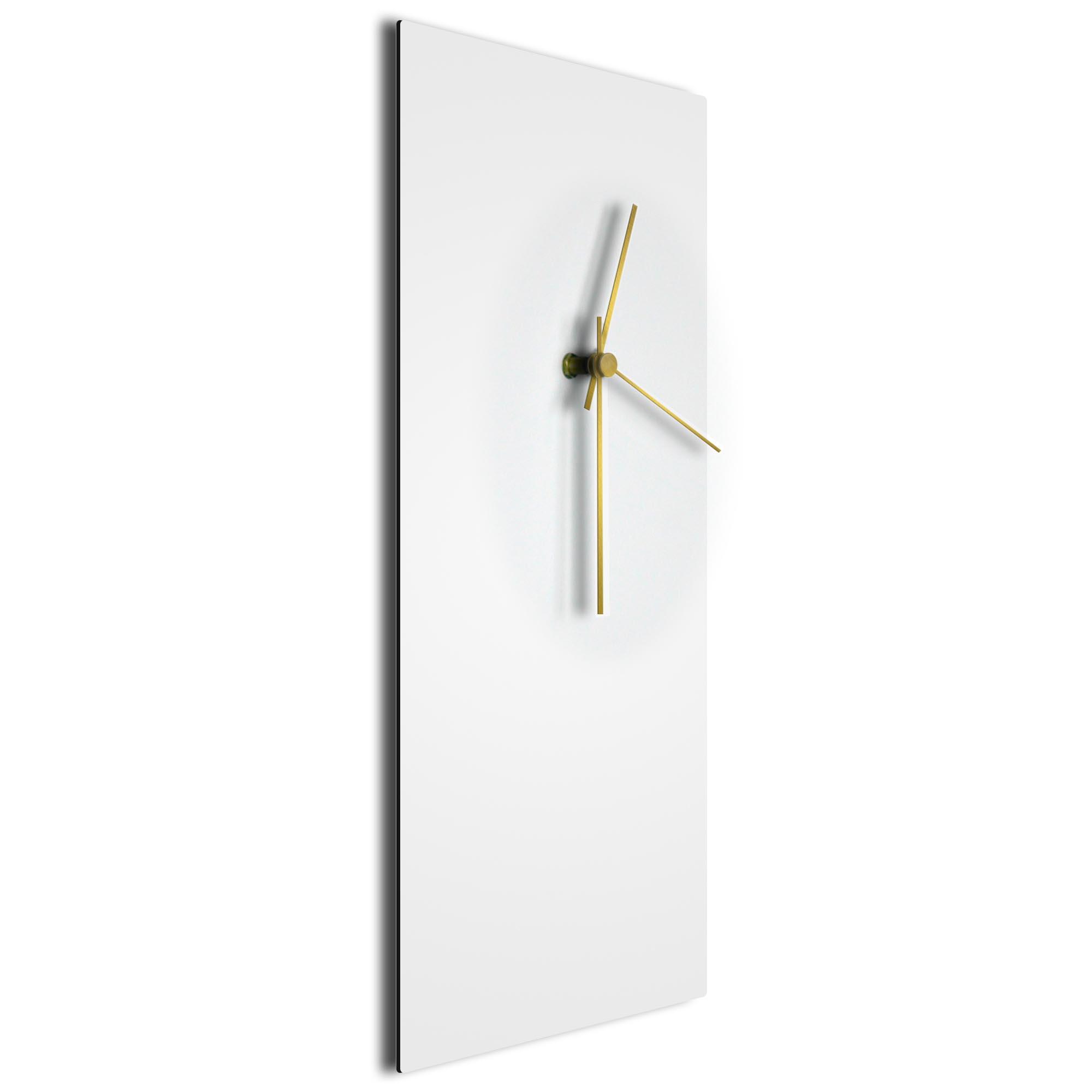 Whiteout Gold Clock Large - Image 2