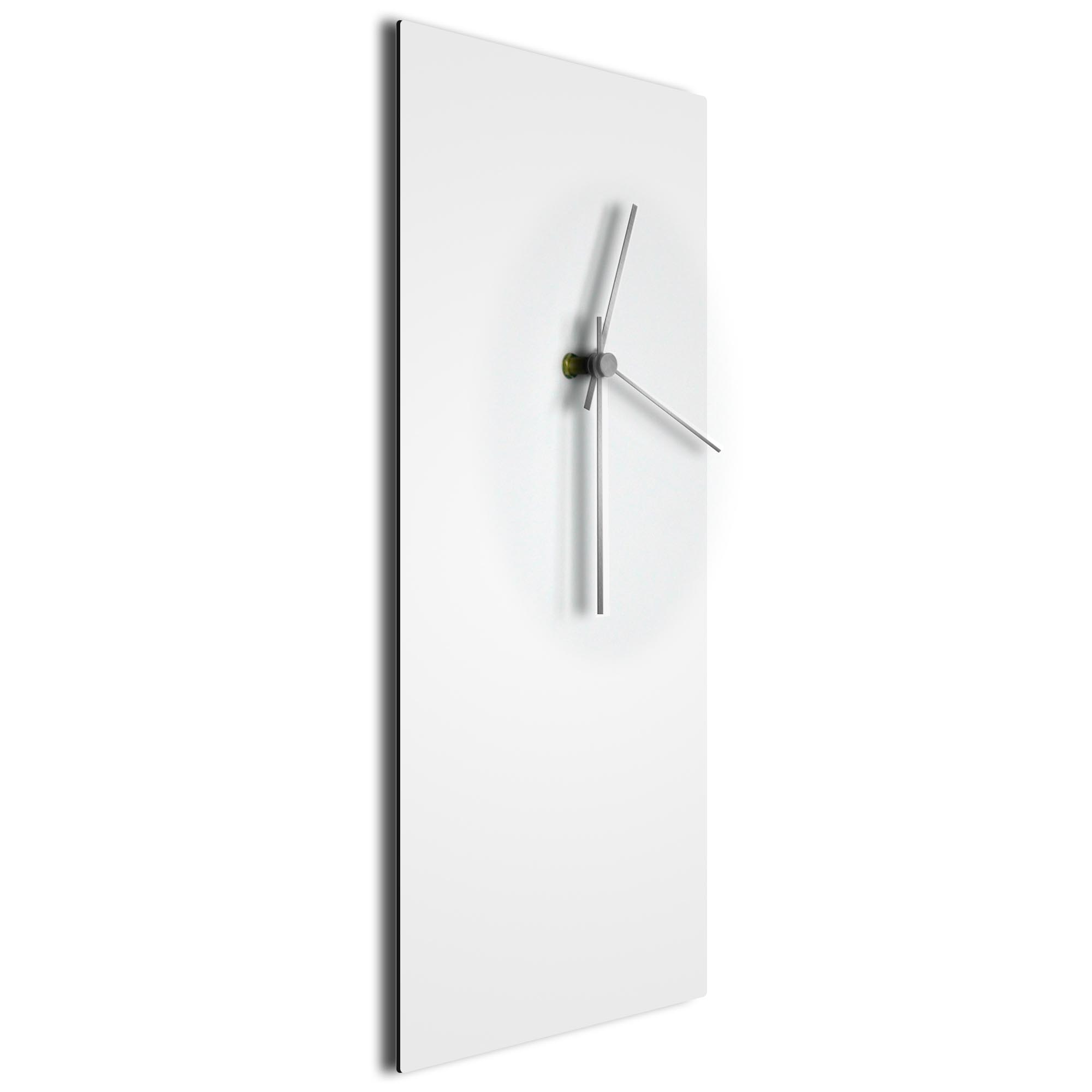 Whiteout Silver Clock Large - Image 2
