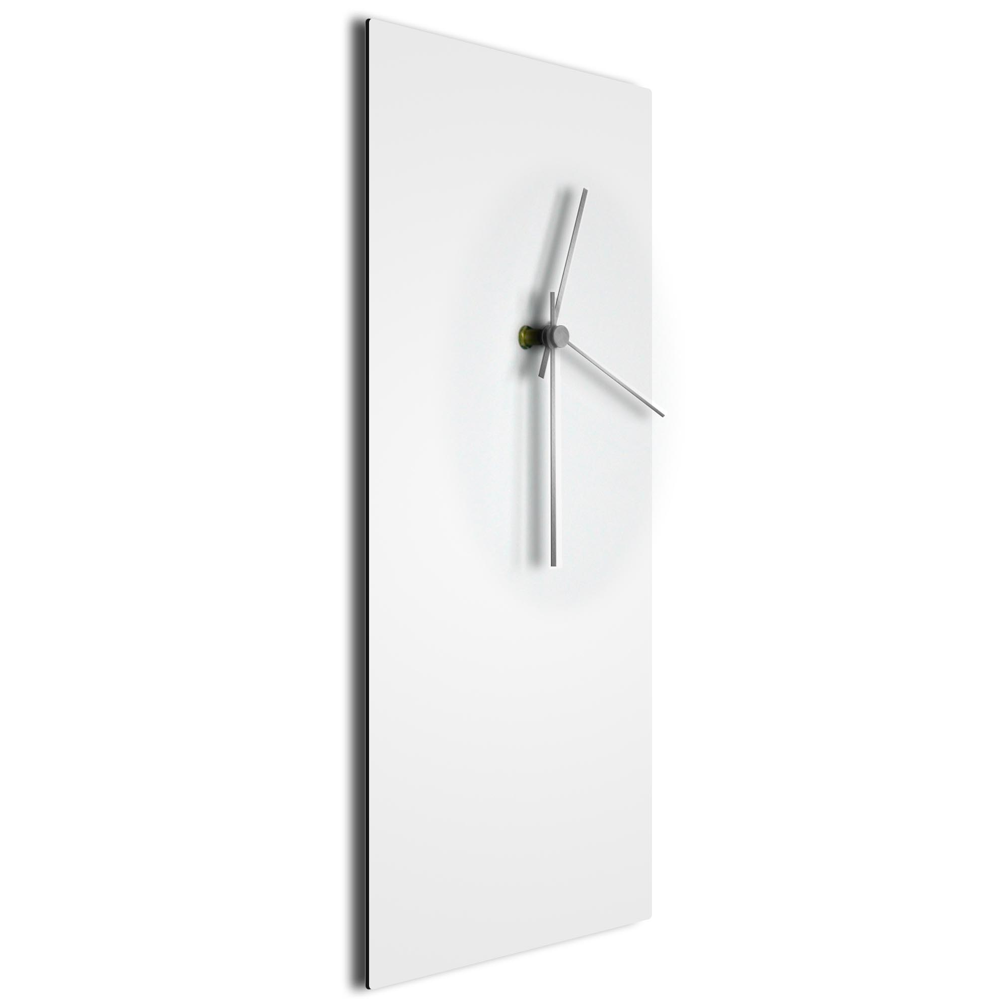 Whiteout Silver Clock - Image 2