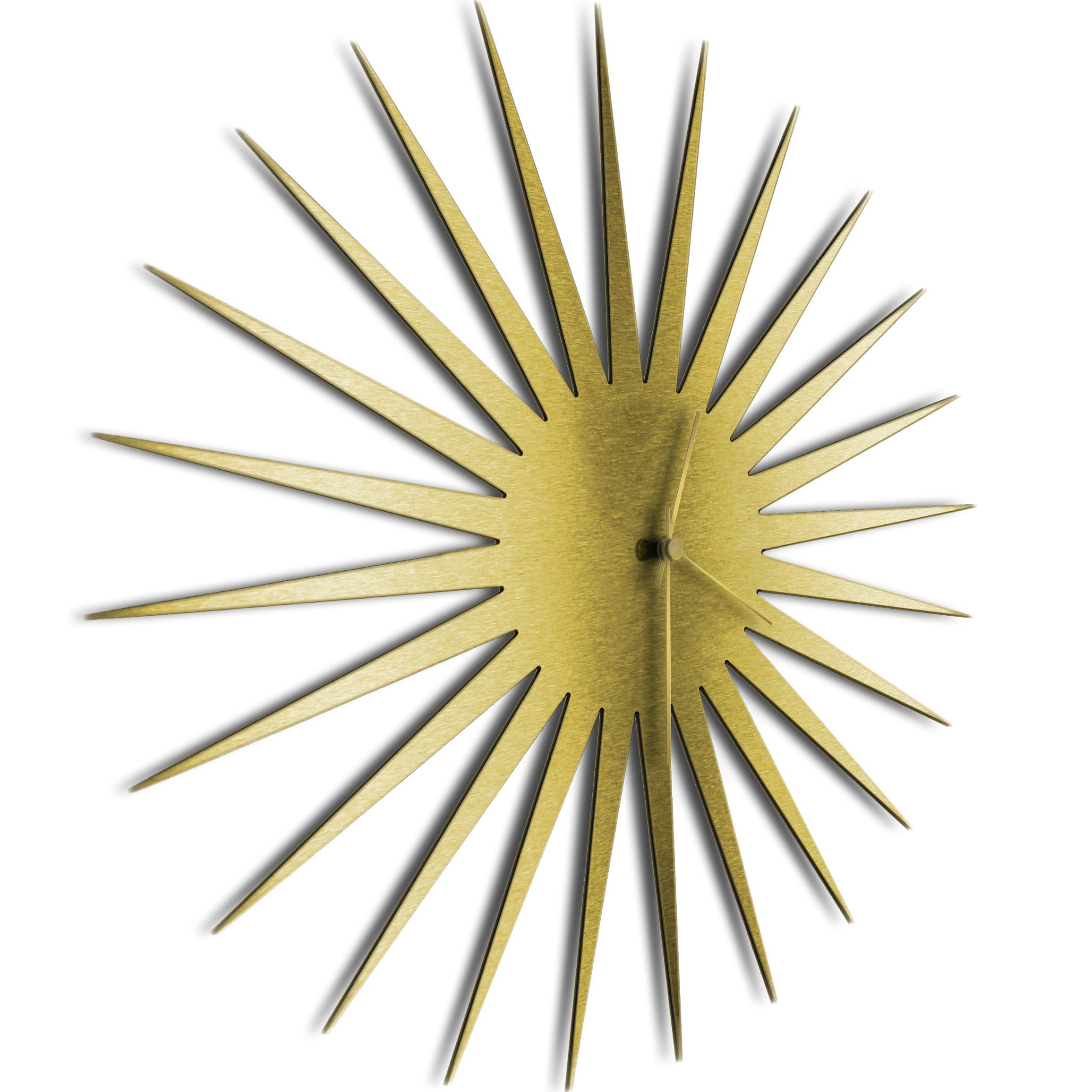 MCM Starburst Clock Gold Gold - Image 2