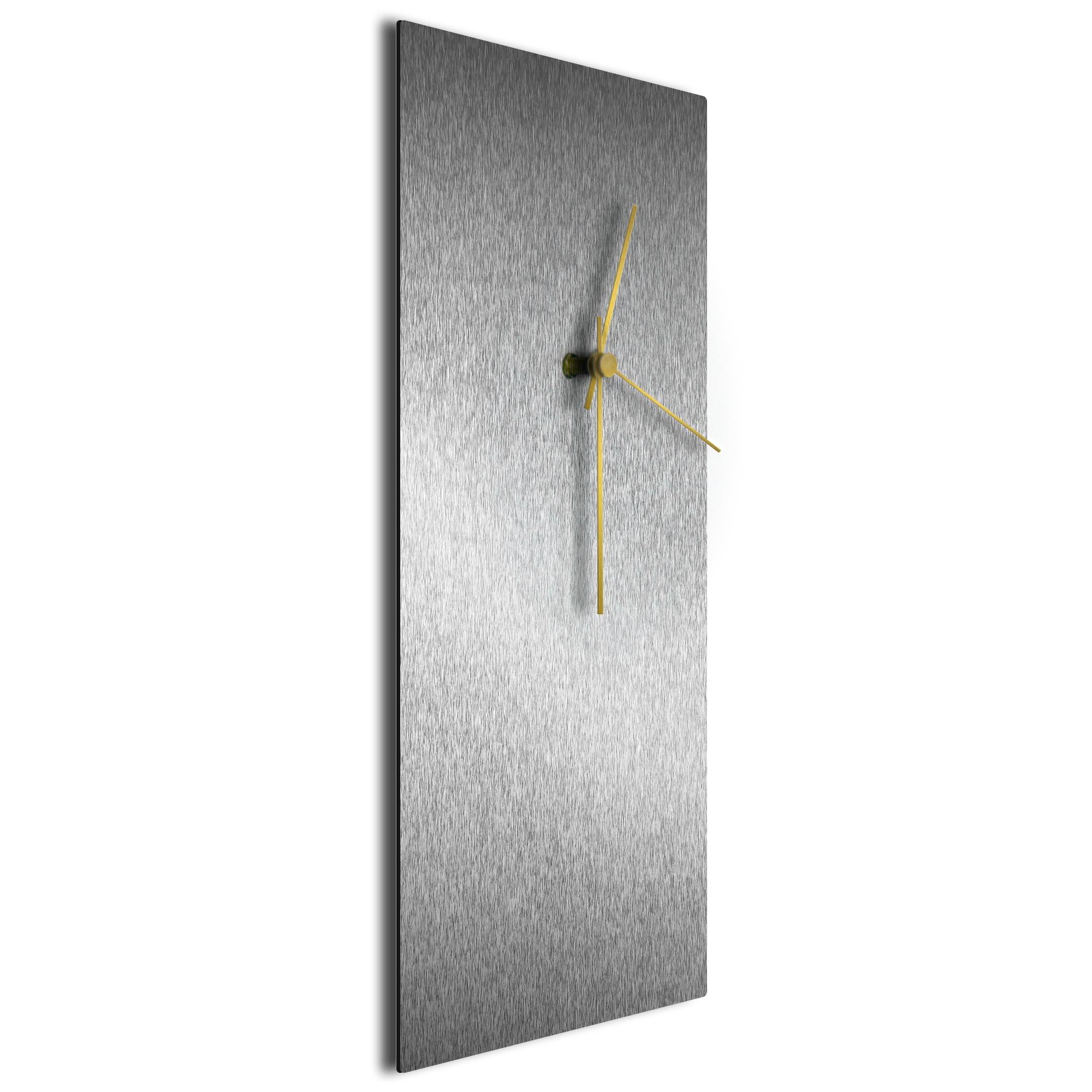Silversmith Clock Large Gold - Image 2