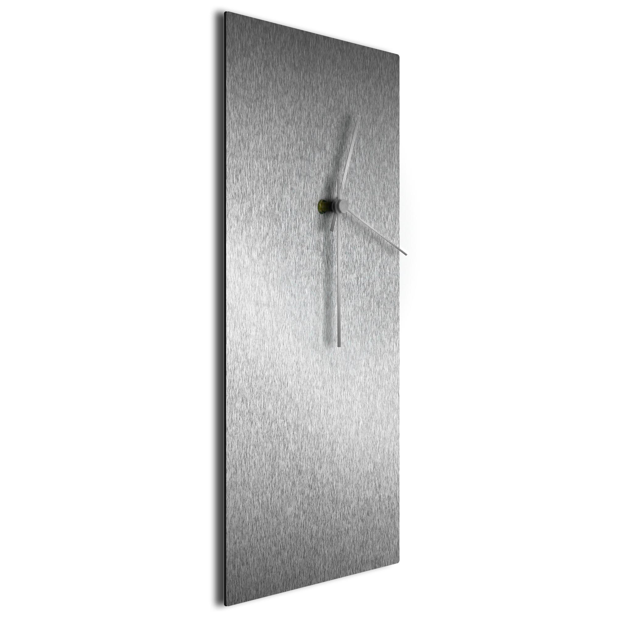 Silversmith Clock Large Silver - Image 2