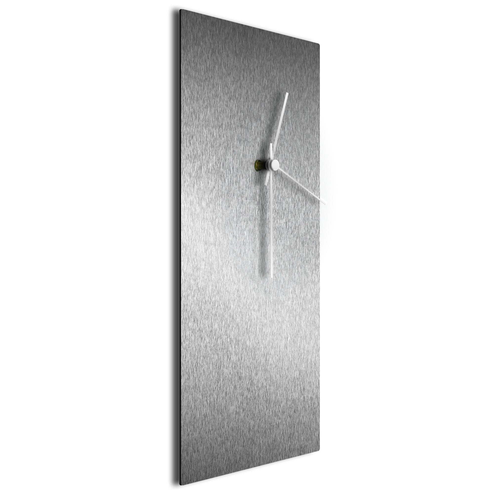 Silversmith Clock Large White - Image 2
