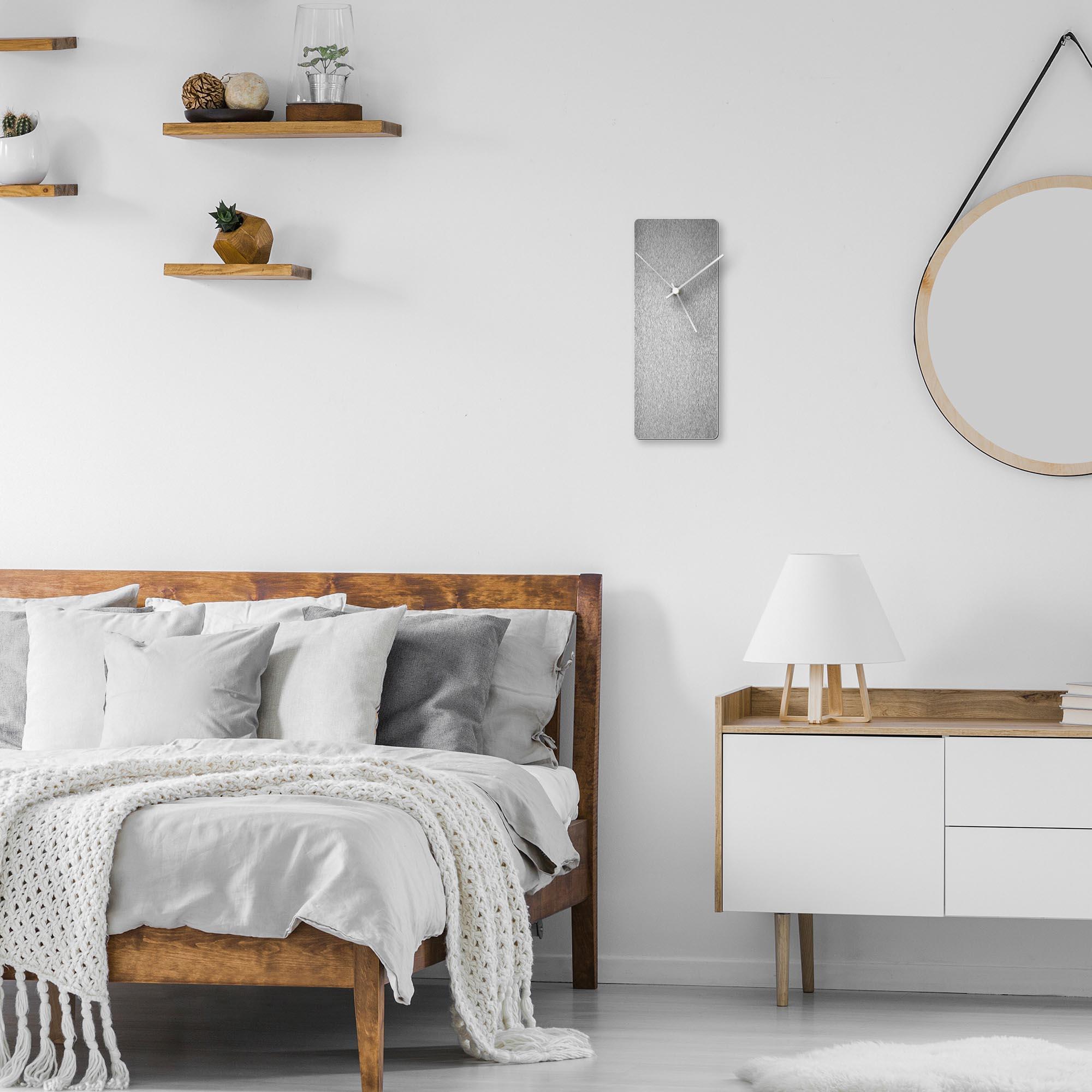 Silversmith Clock White - Lifestyle View