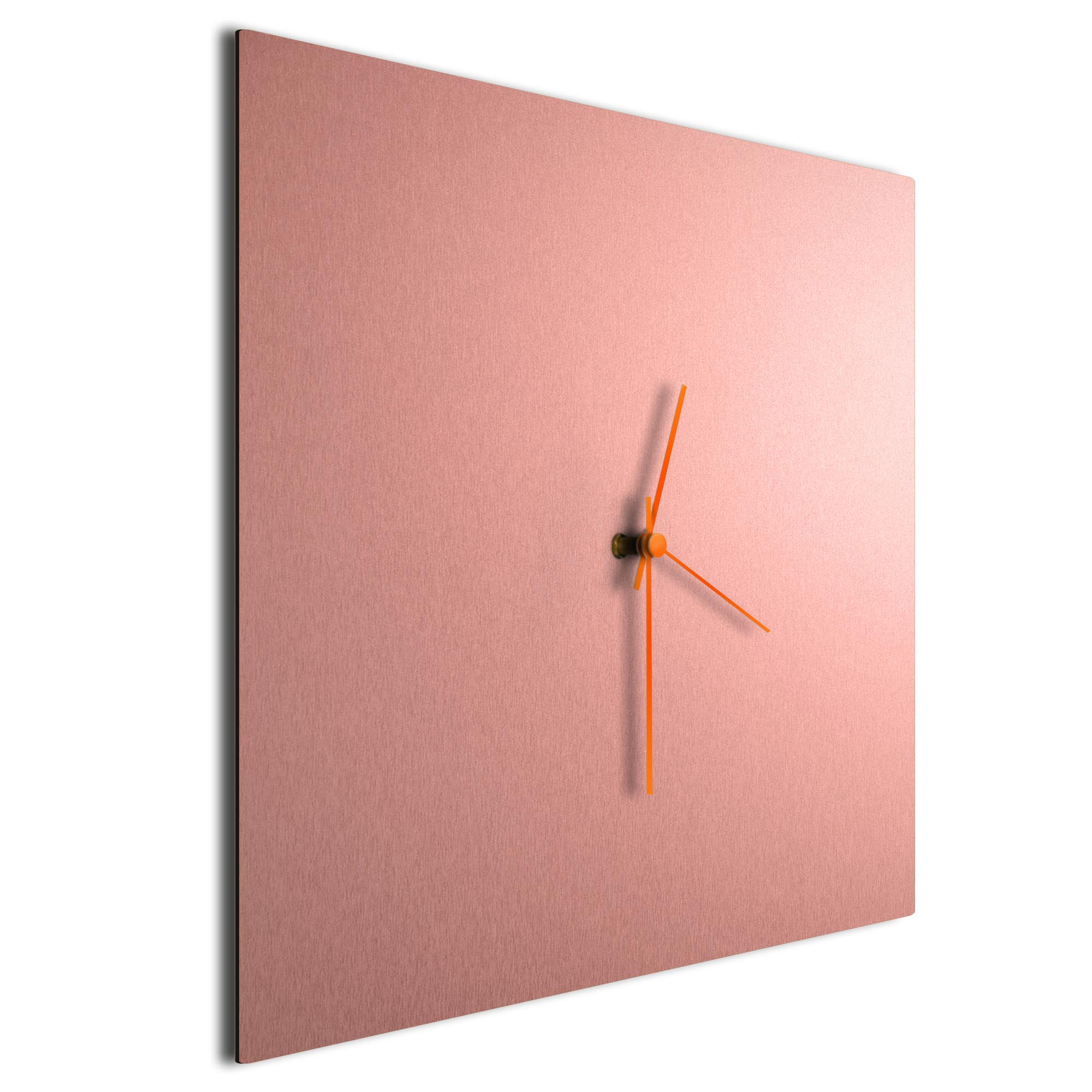 Coppersmith Square Clock Orange - Image 2