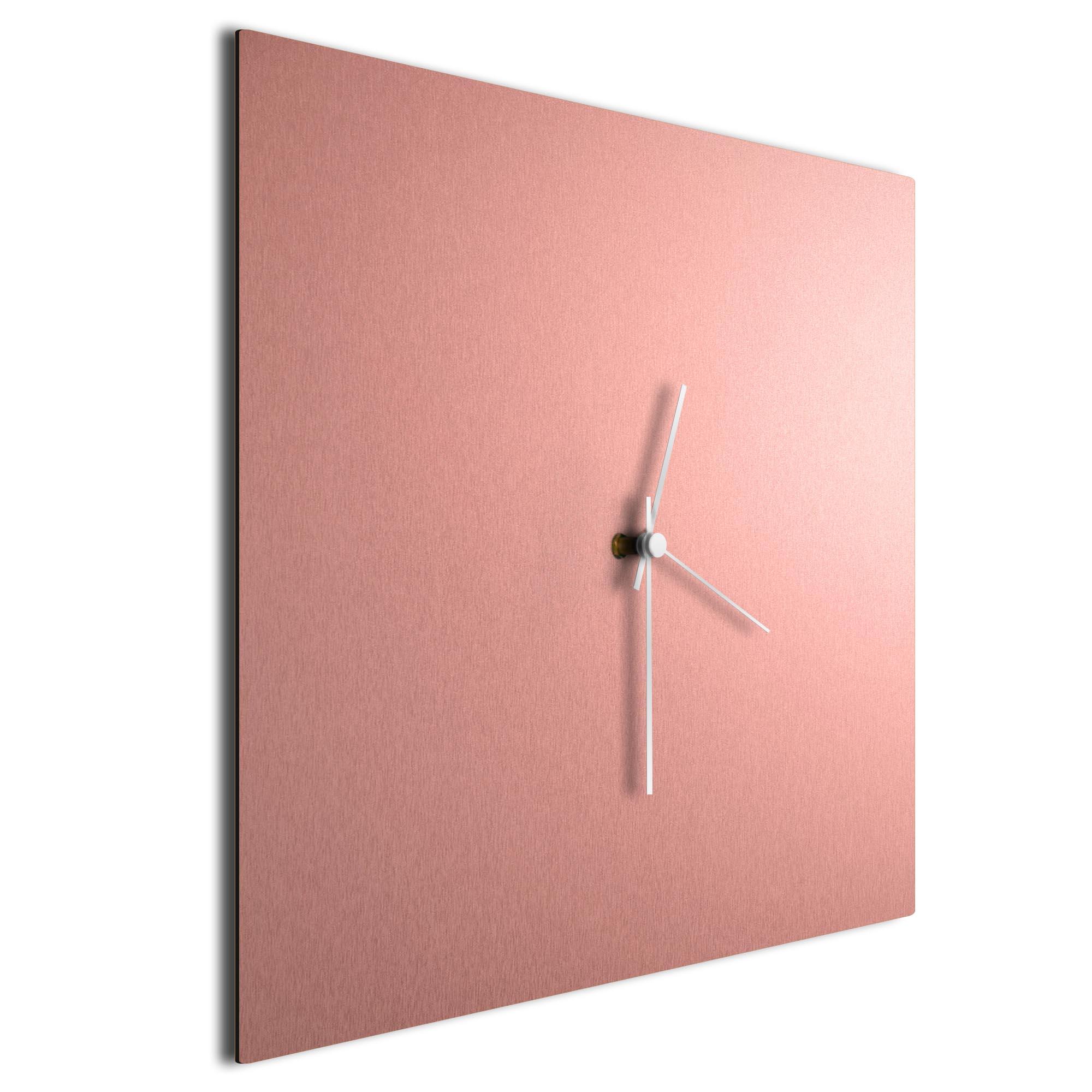 Coppersmith Square Clock White - Image 2