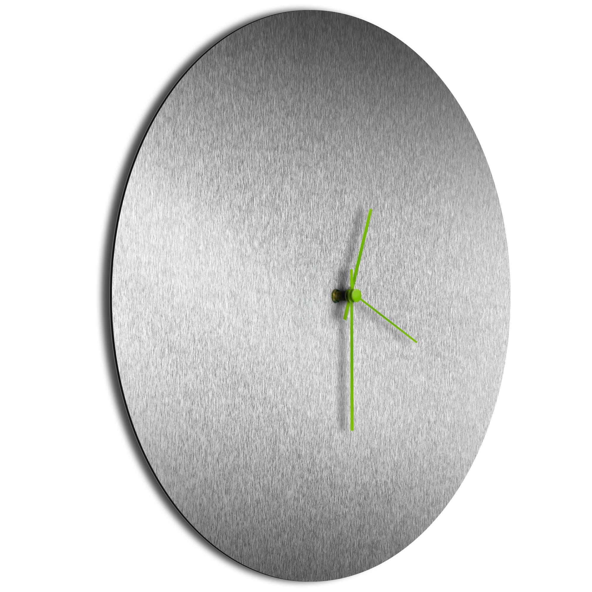 Silversmith Circle Clock Green - Image 2
