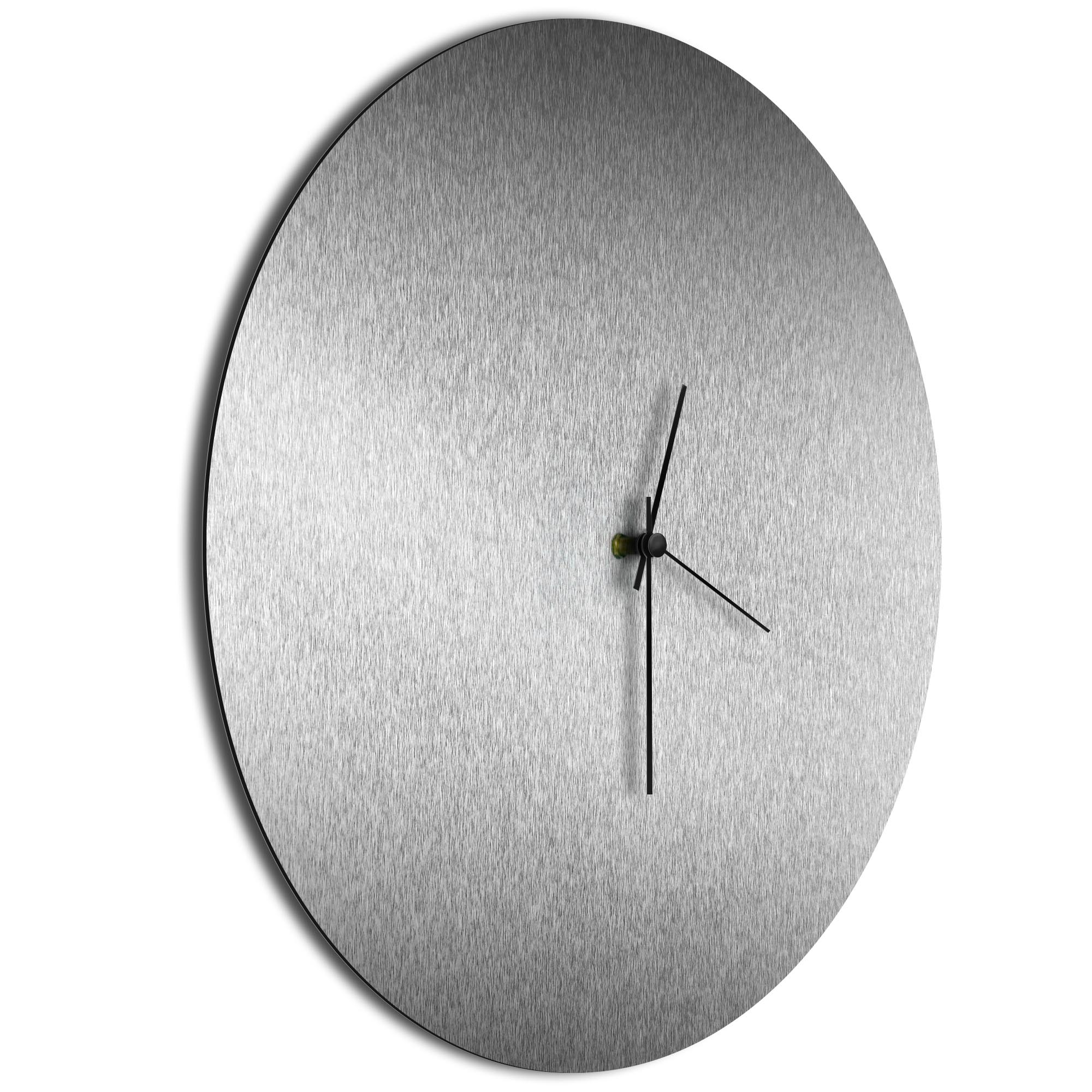 Silversmith Circle Clock Large Black - Image 2