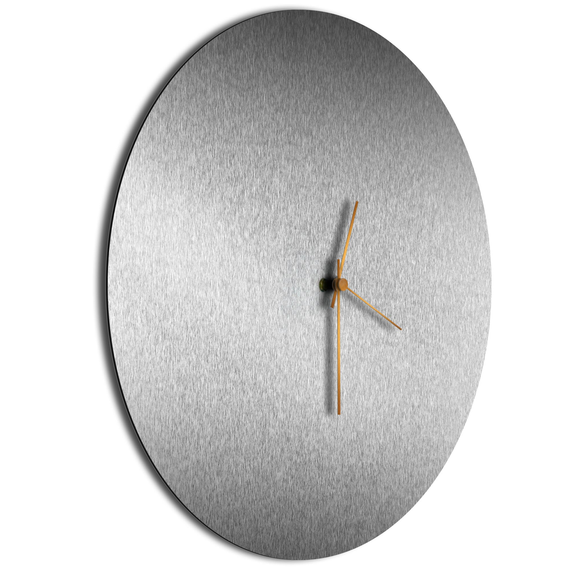 Silversmith Circle Clock Large Bronze - Image 2