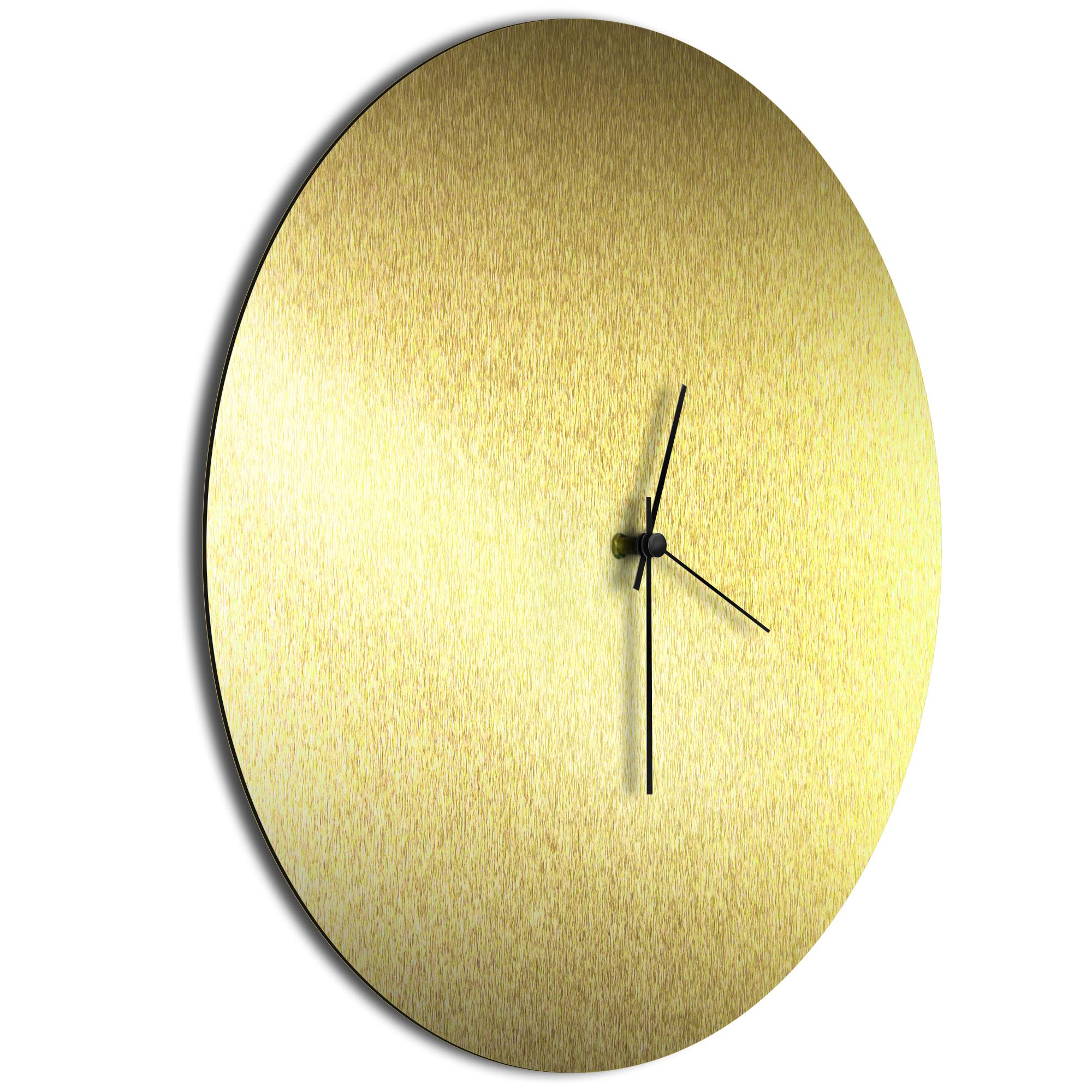 Goldsmith Circle Clock Black - Image 2