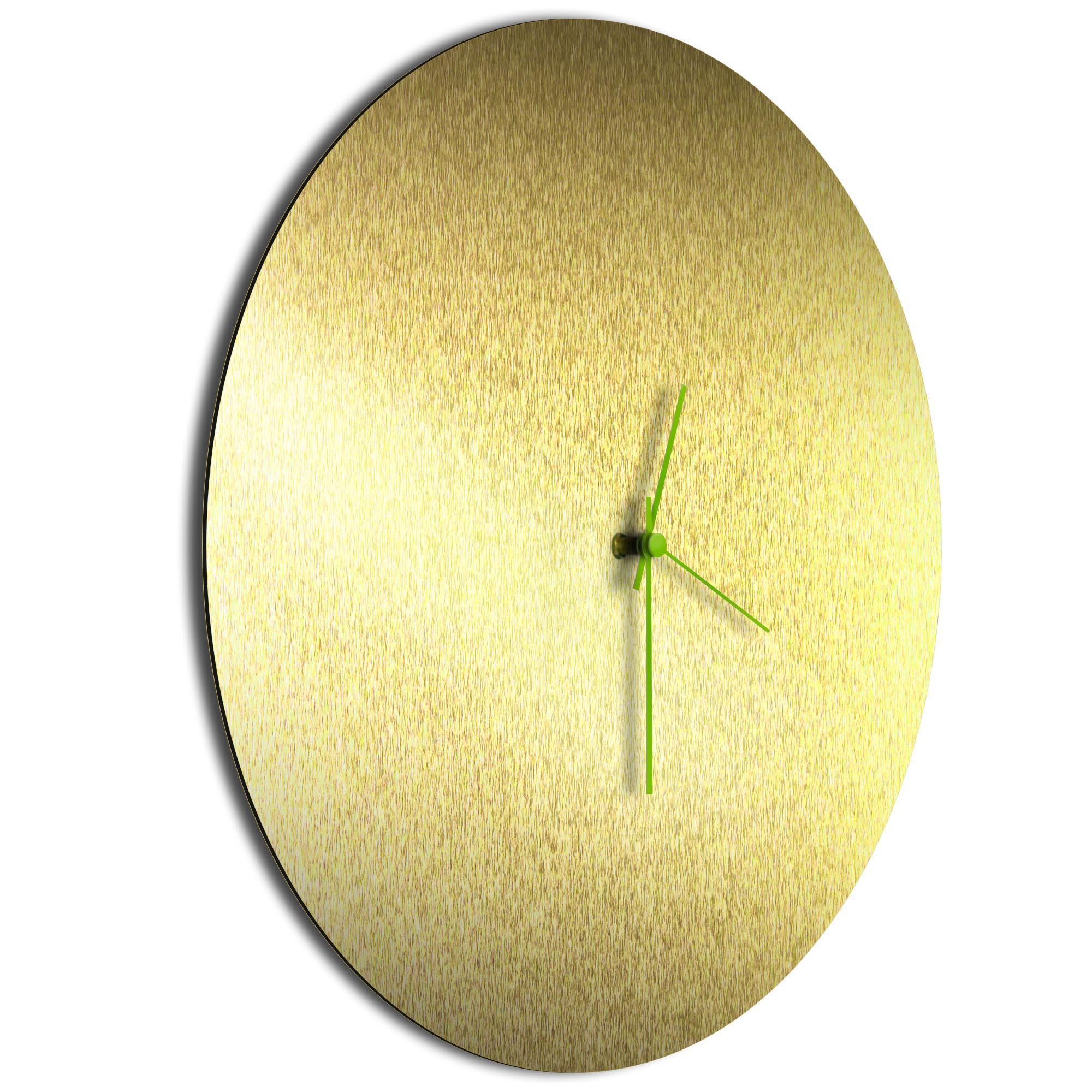 Goldsmith Circle Clock Green - Image 2