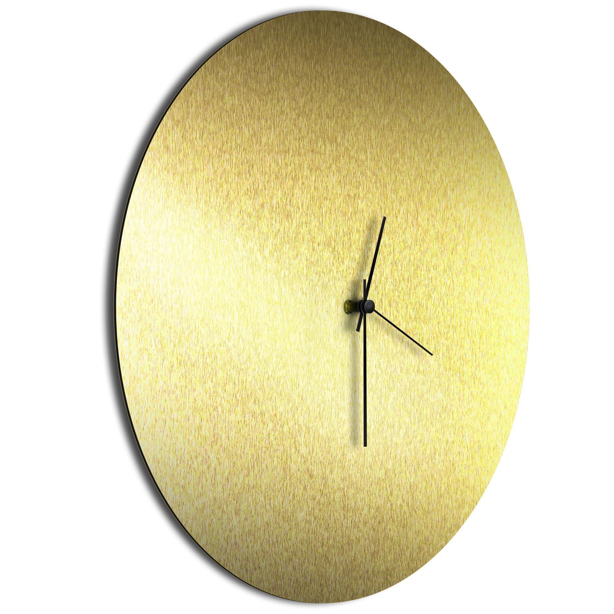 Goldsmith Circle Clock Large Black - Image 2