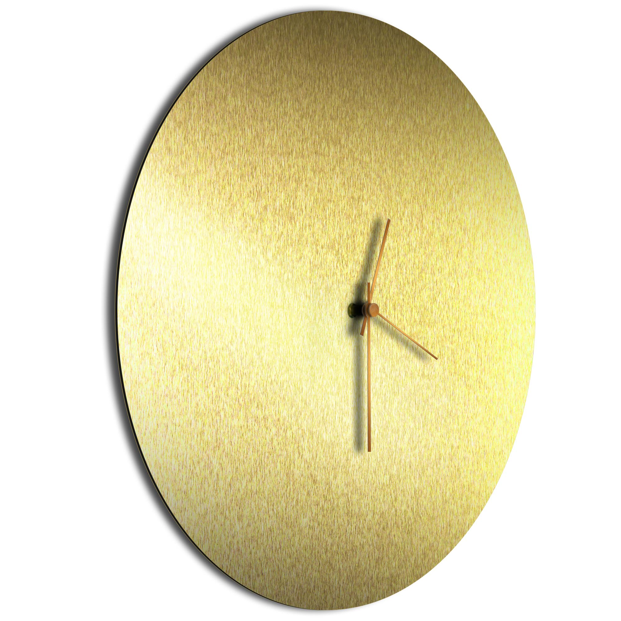 Goldsmith Circle Clock Large Bronze - Image 2
