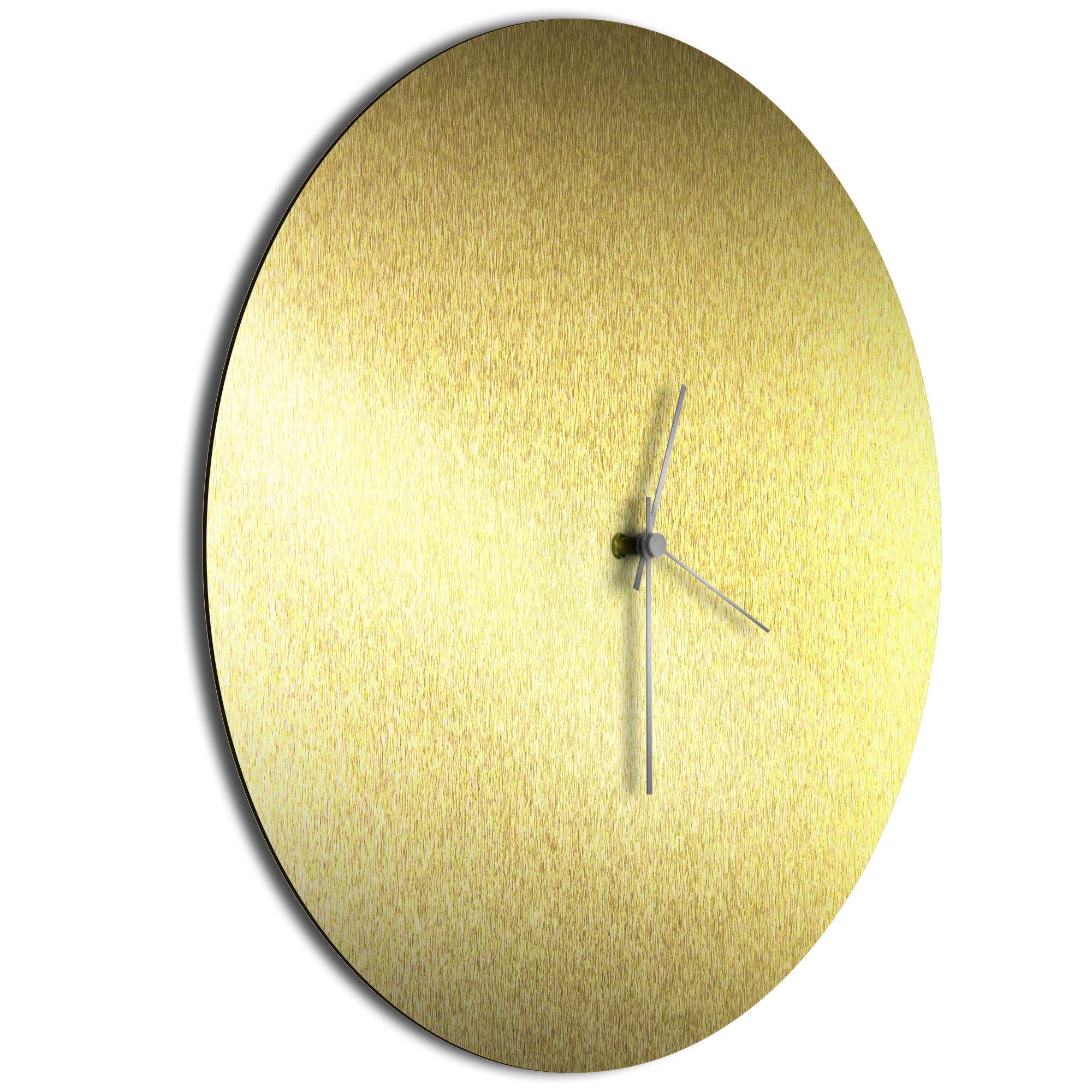 Goldsmith Circle Clock Silver - Image 2