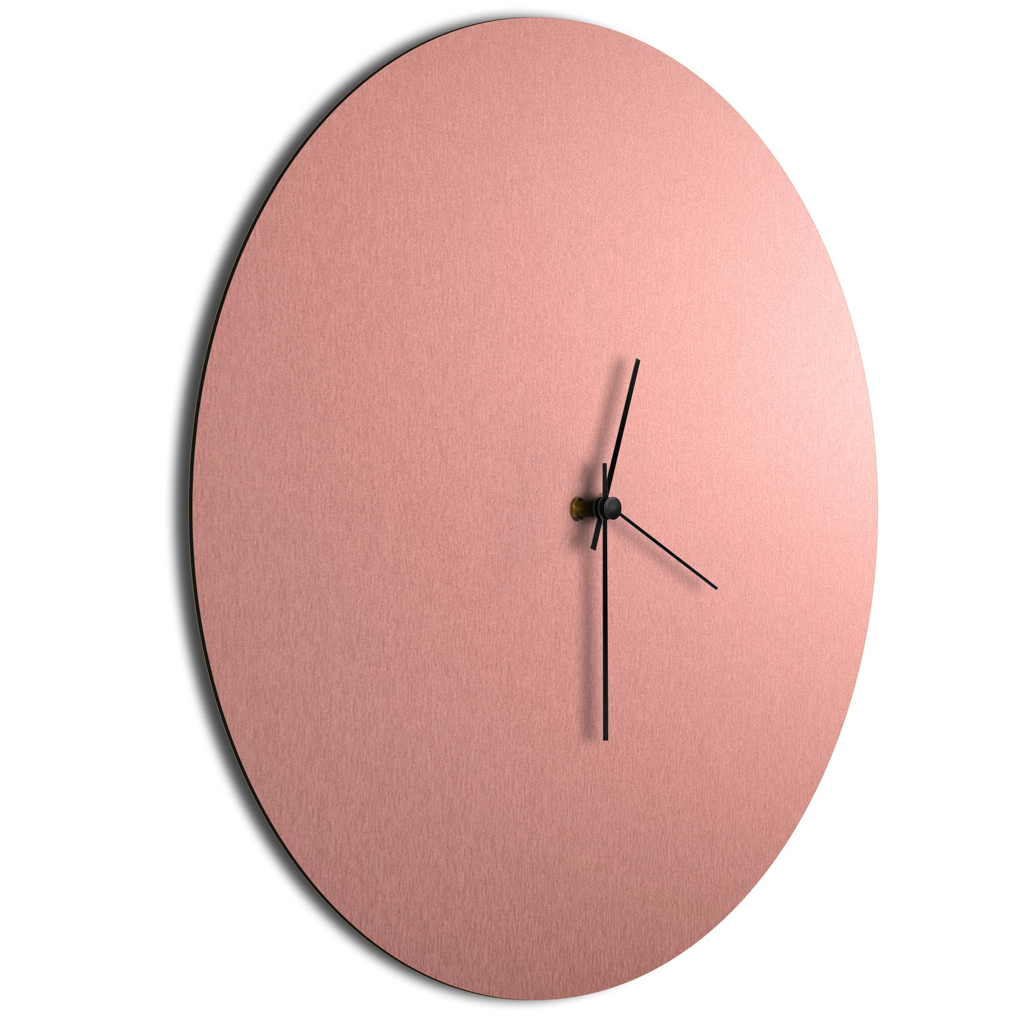 Coppersmith Circle Clock Large Black - Image 2