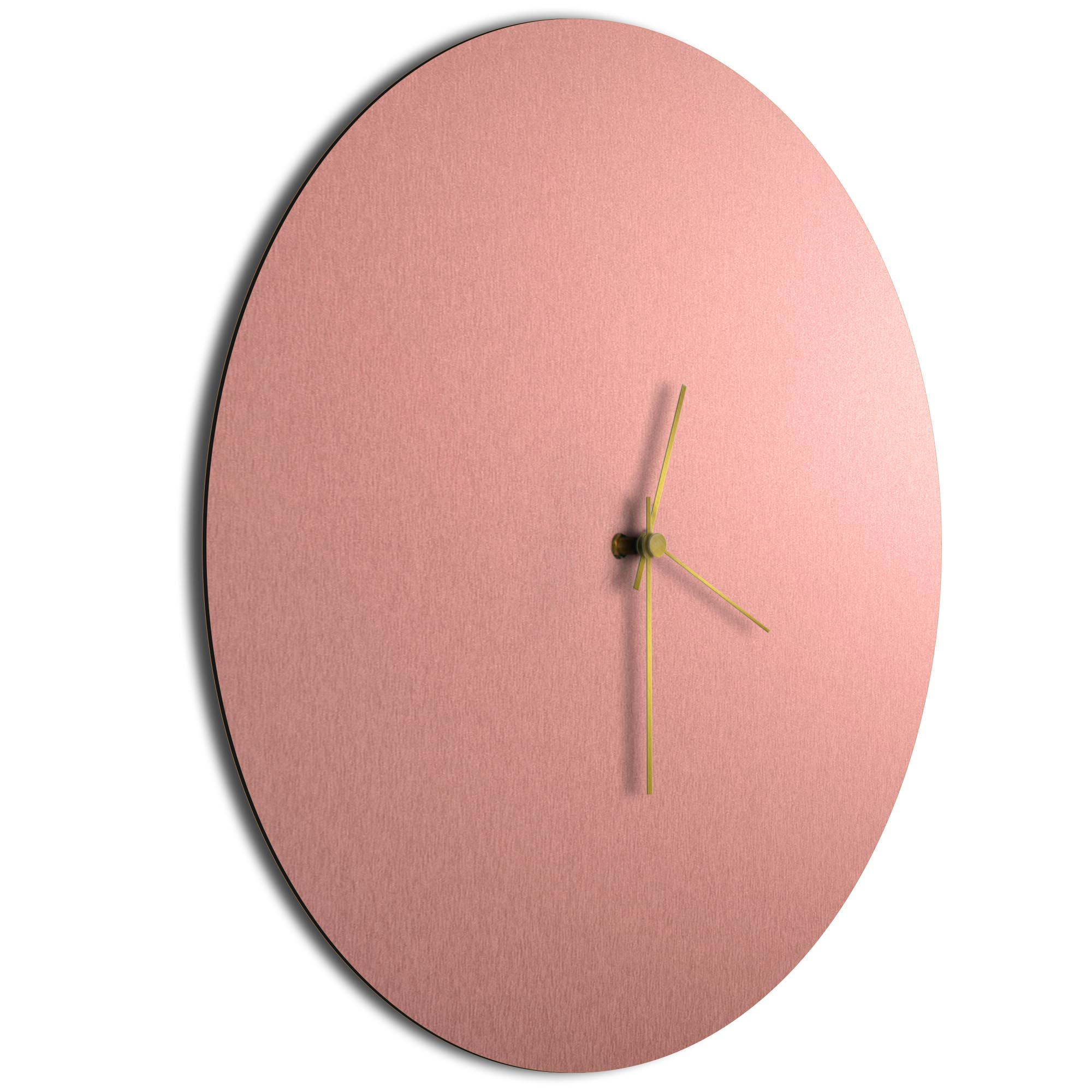 Coppersmith Circle Clock Large Gold - Image 2