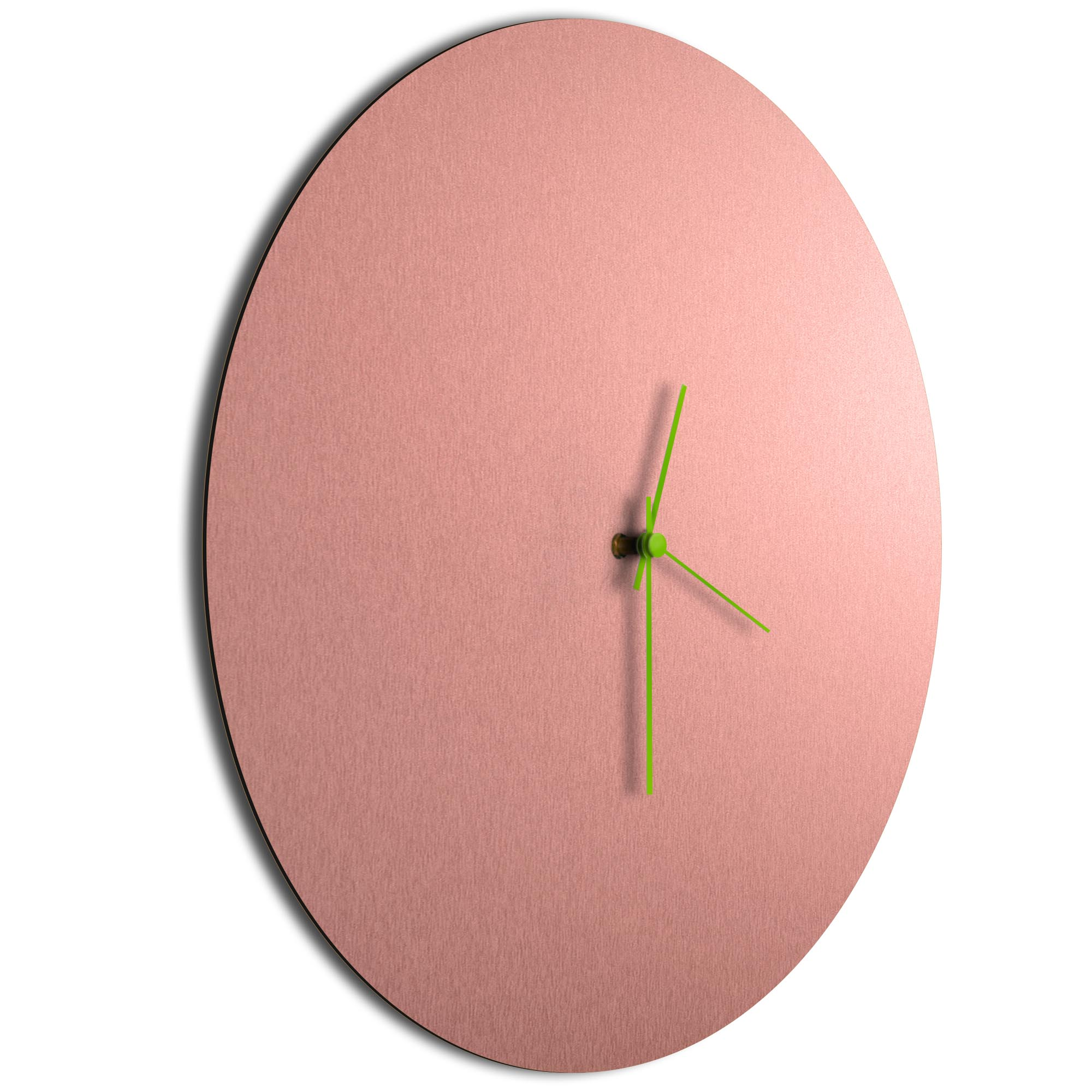 Coppersmith Circle Clock Large Green - Image 2
