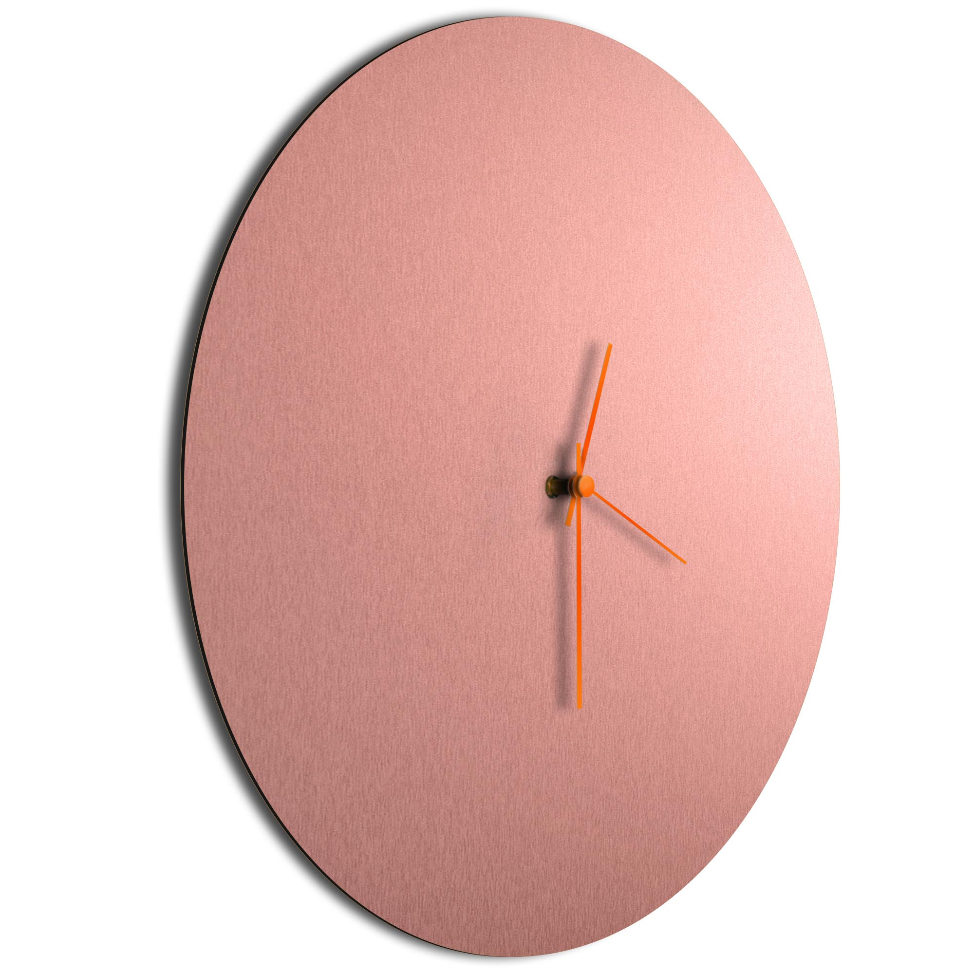 Coppersmith Circle Clock Large Orange - Image 2