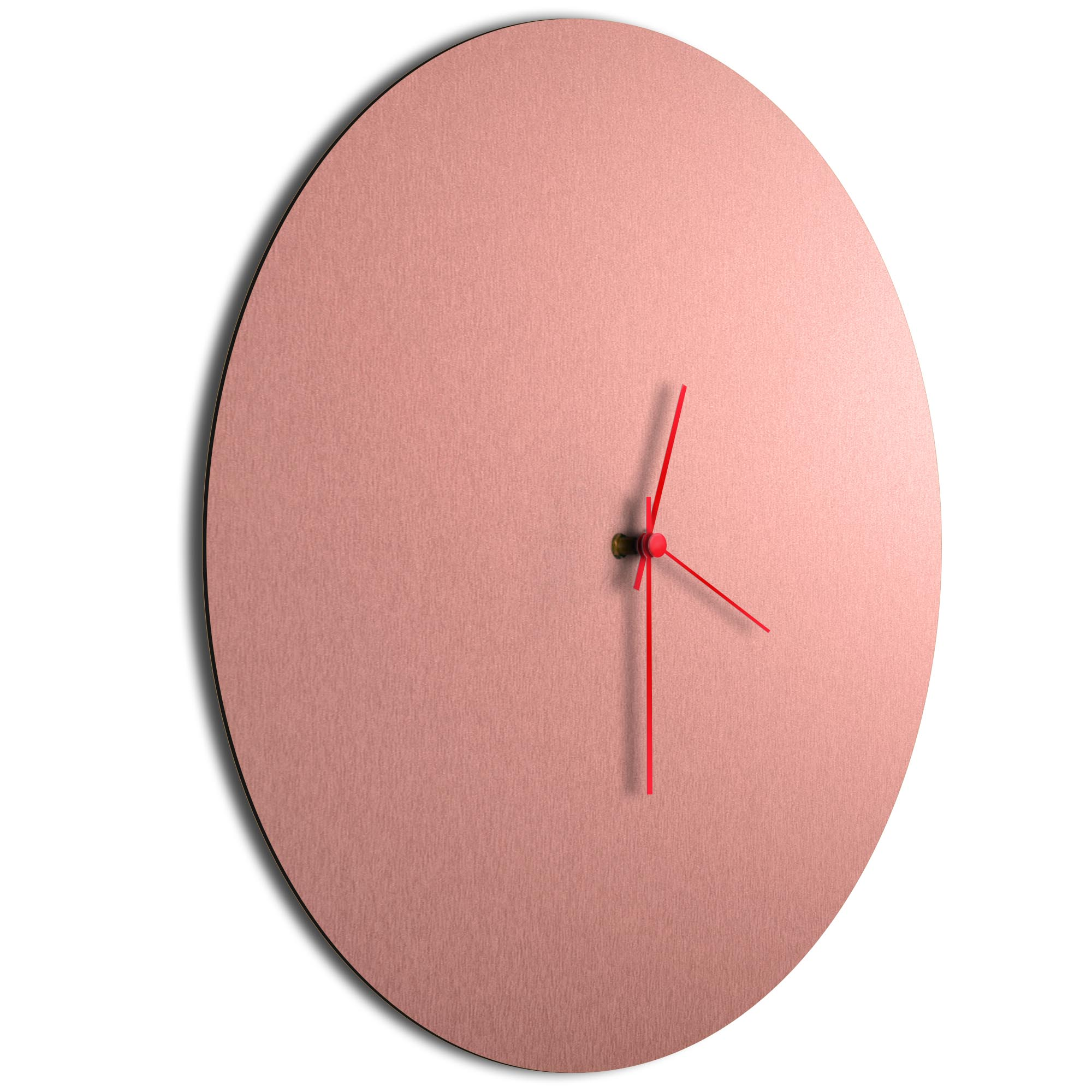 Coppersmith Circle Clock Large Red - Image 2