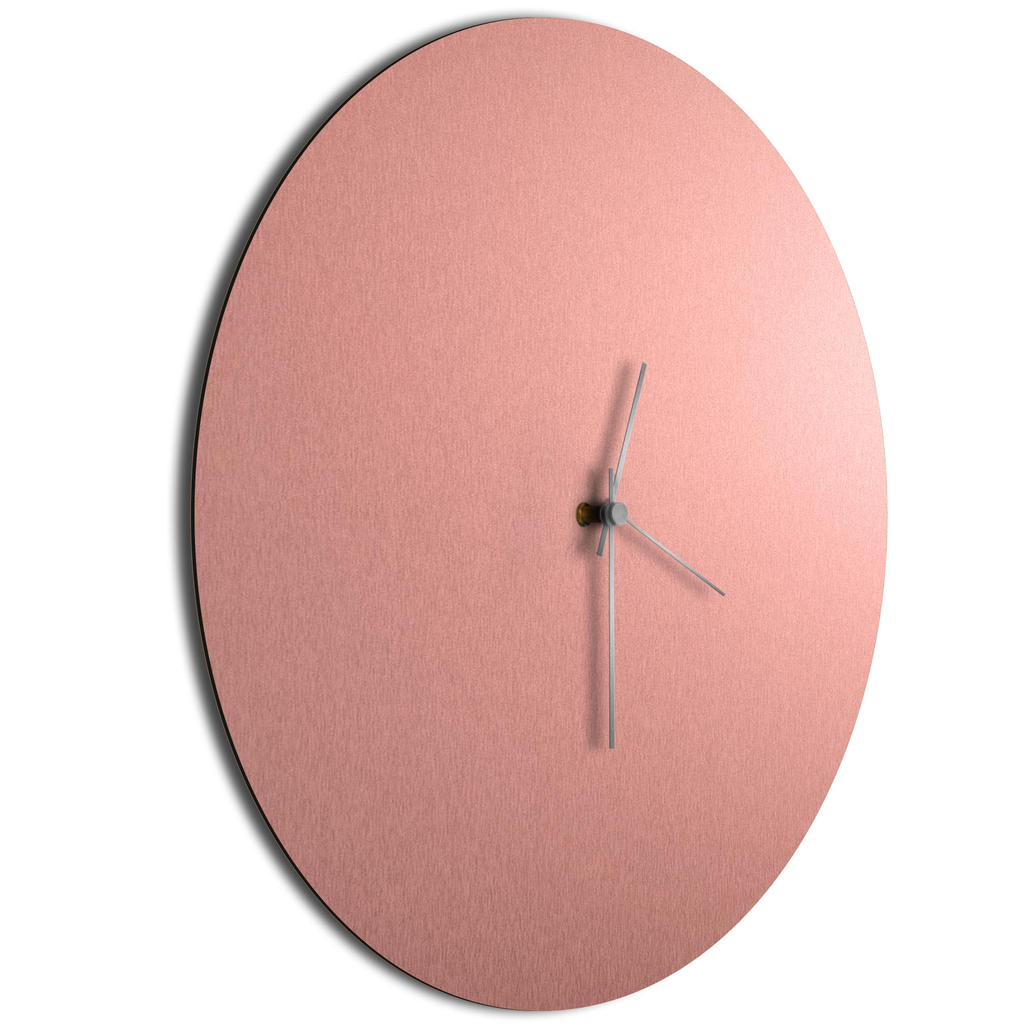 Coppersmith Circle Clock Large Silver - Image 2