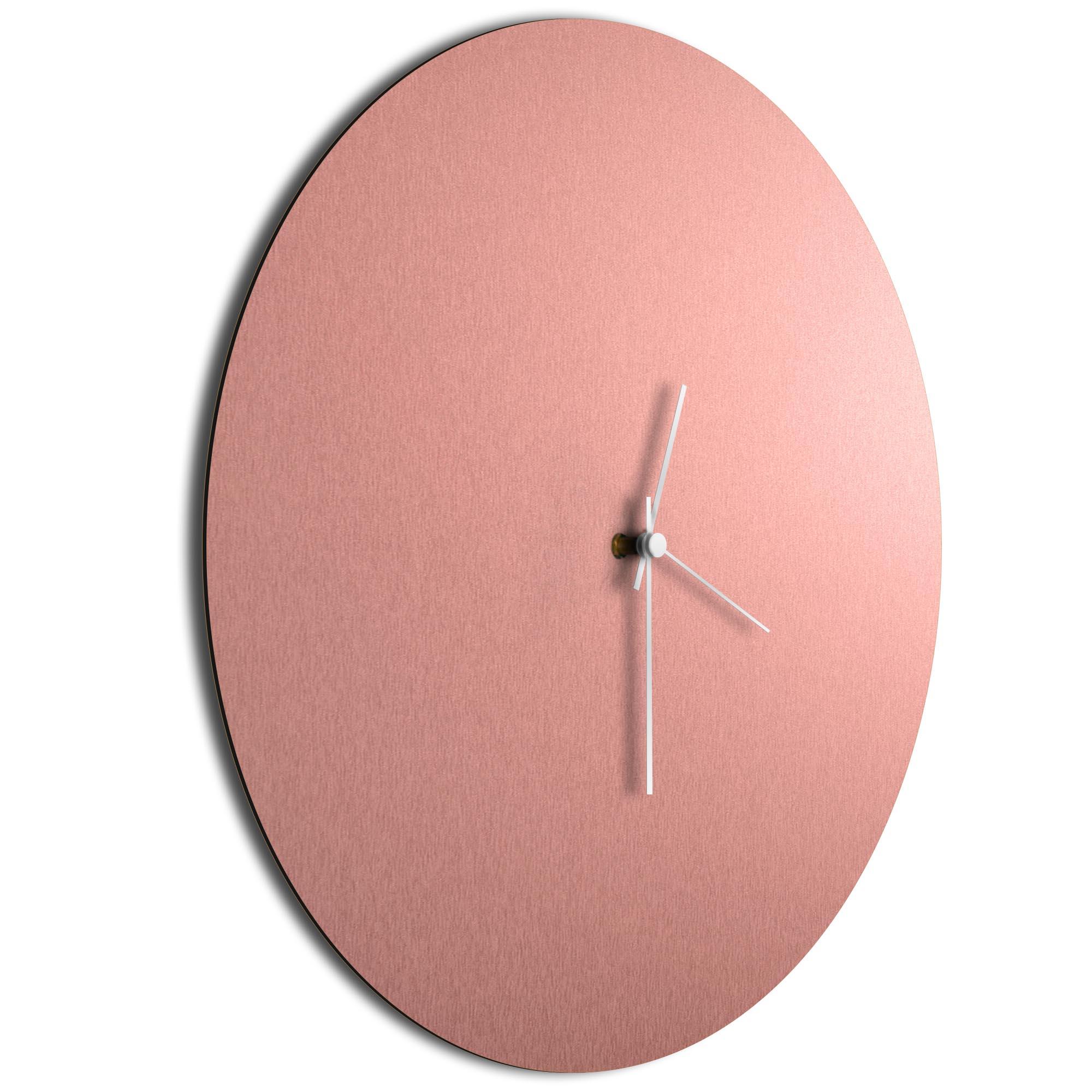 Coppersmith Circle Clock Large White - Image 2
