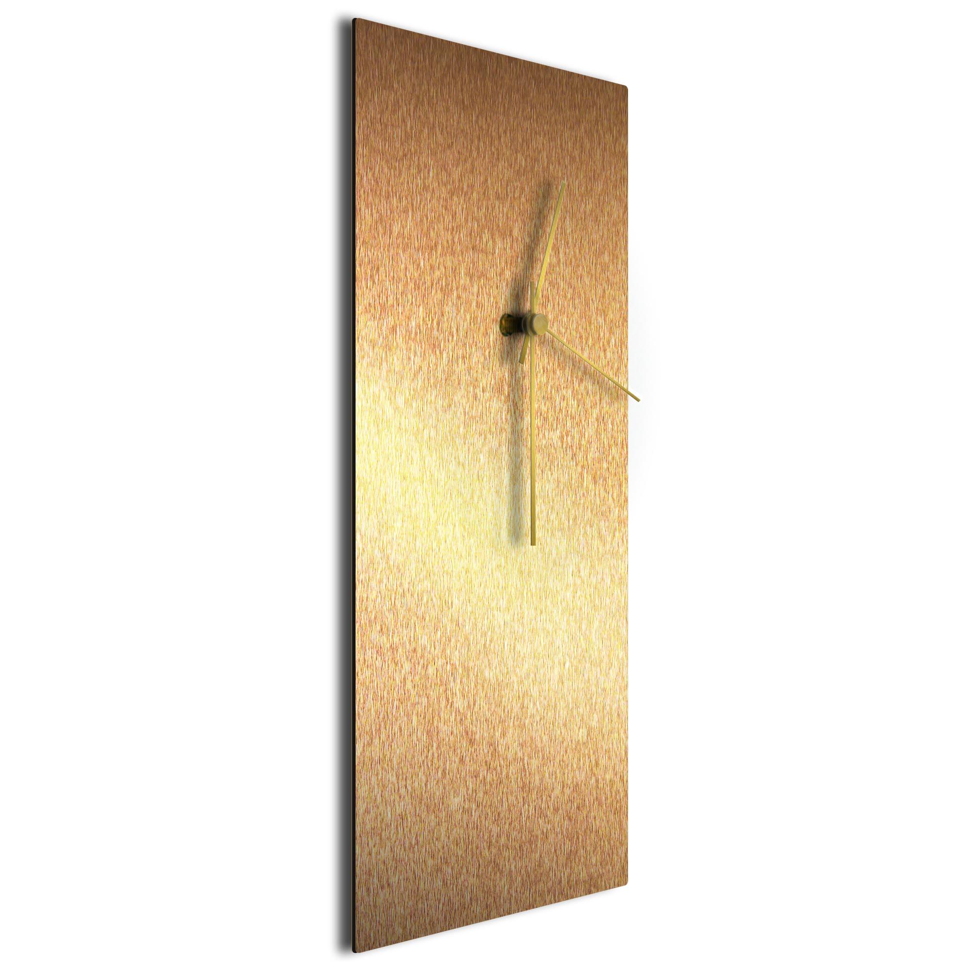 Bronzesmith Clock Large Gold - Image 2